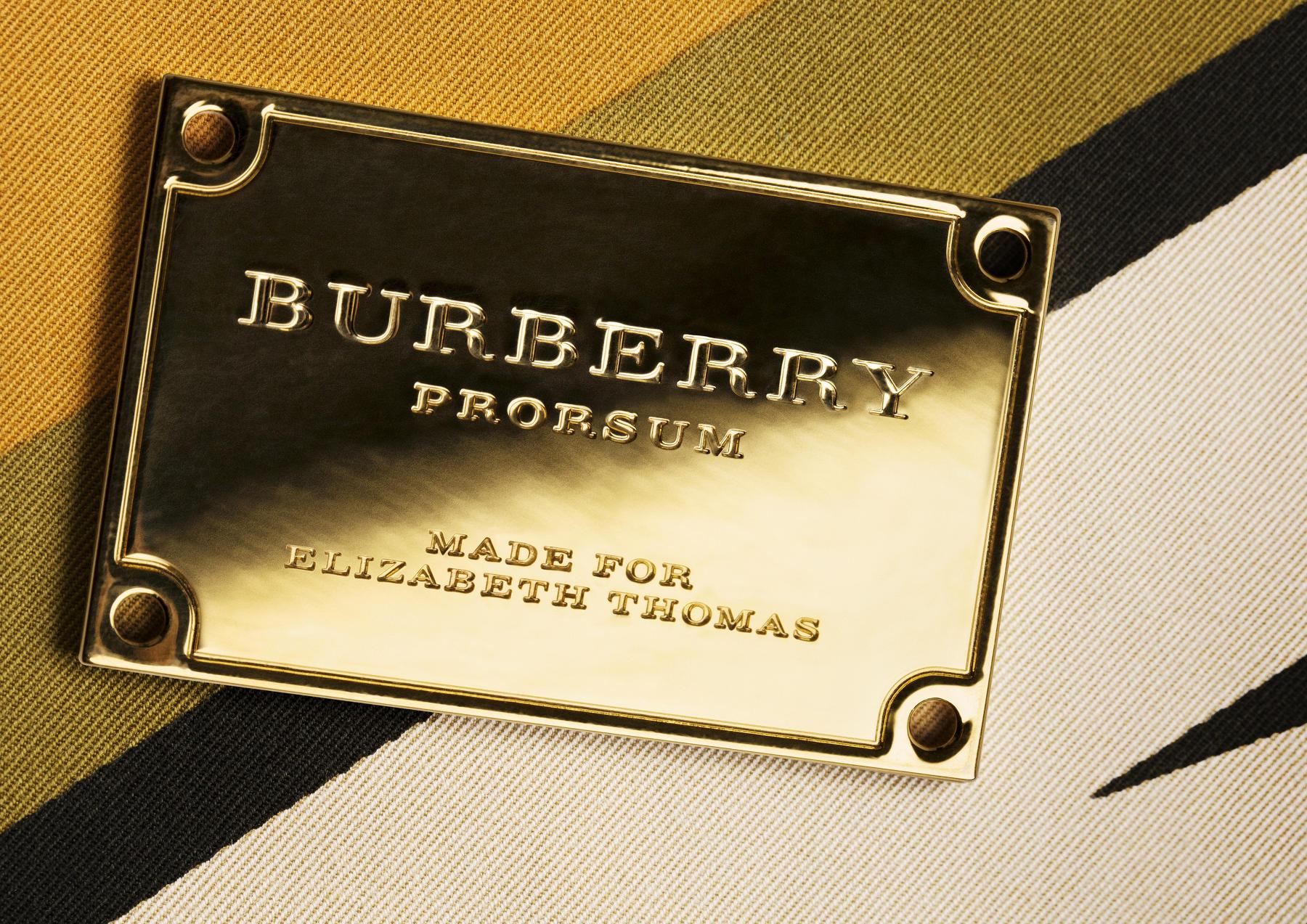 Burberry Prorsum Womenswear Spring Summer 2015 Detail