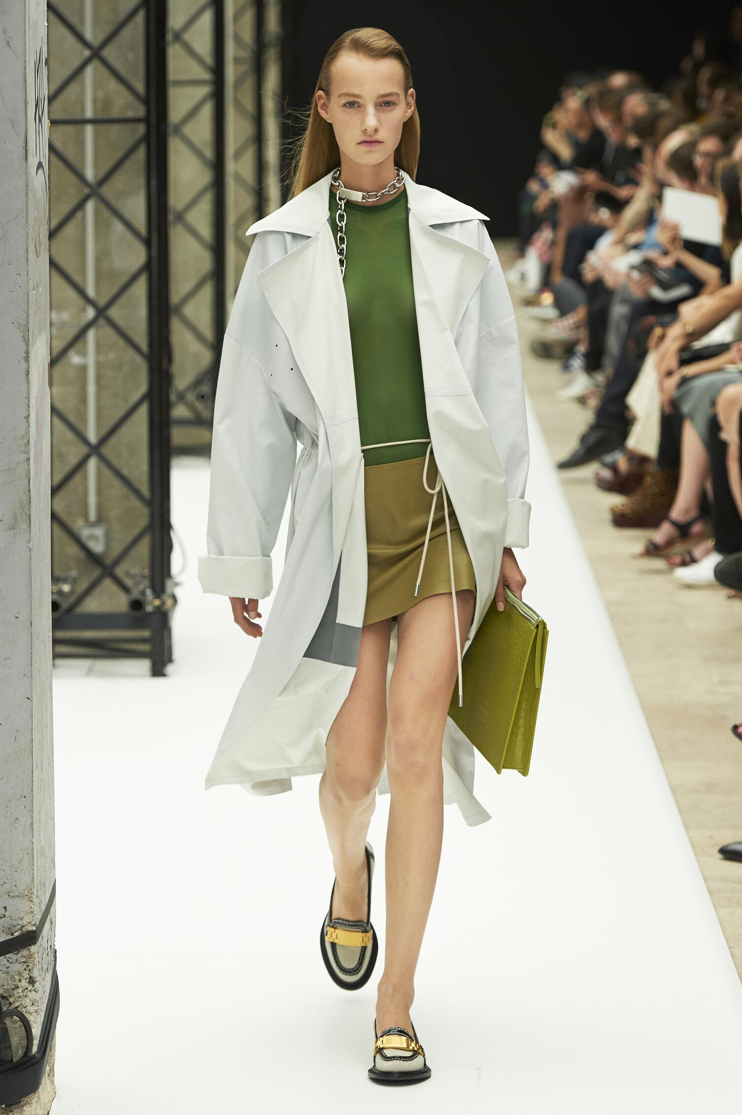 Catwalk Acne Studios Woman Fashion Show Summer 2015
