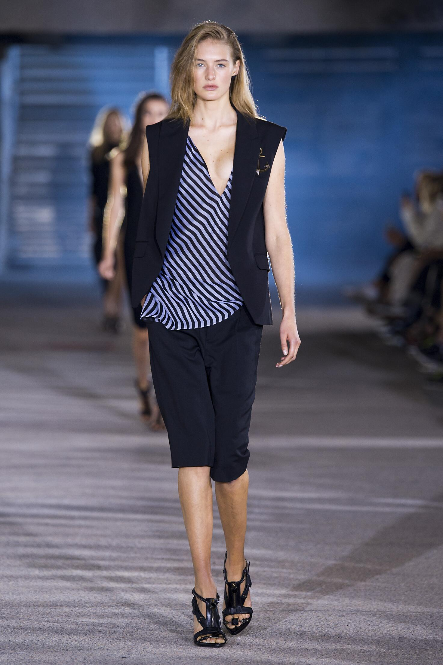 Catwalk Anthony Vaccarello Summer 2015