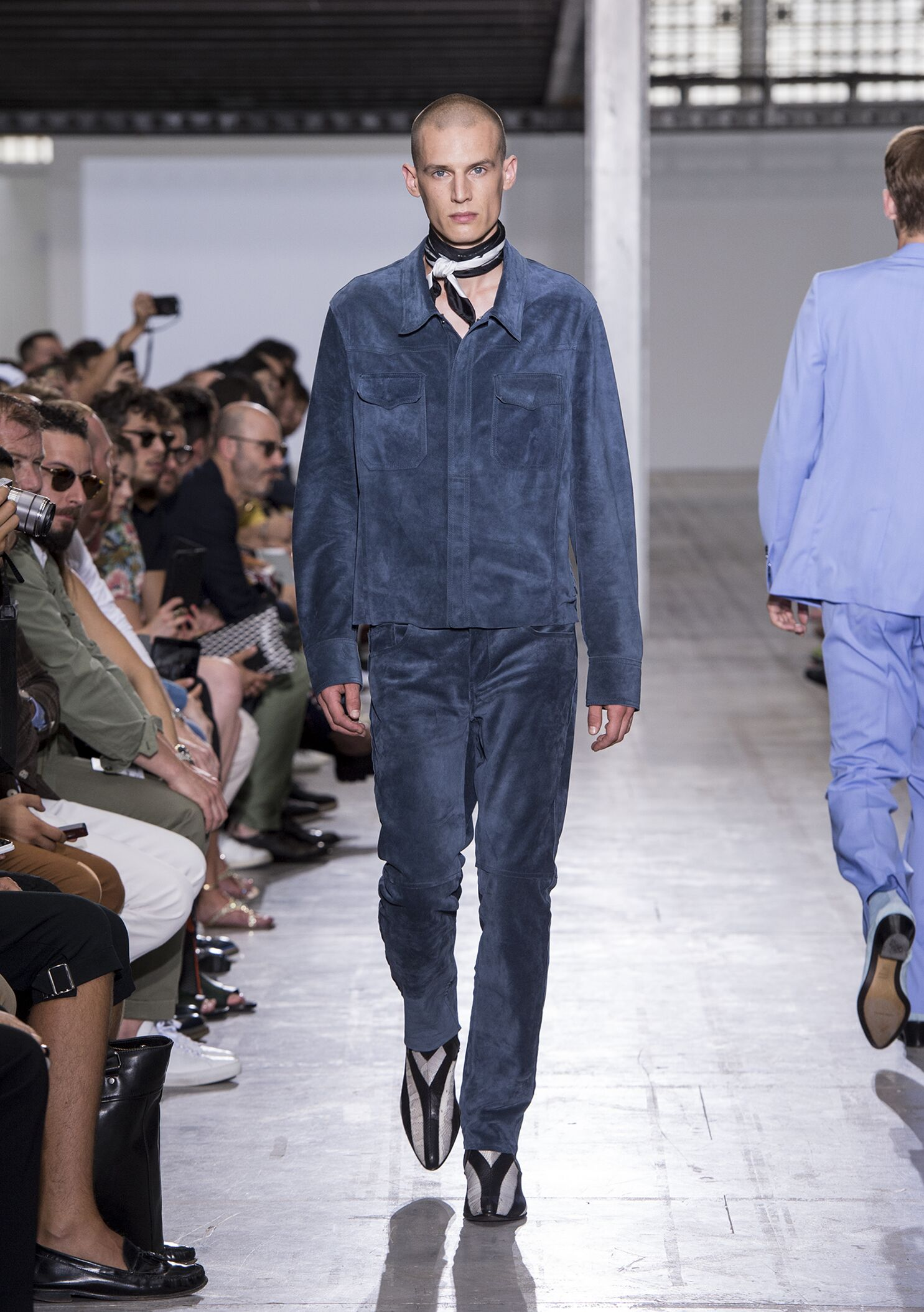 Catwalk Costume National Homme Fashion Show Summer 2015