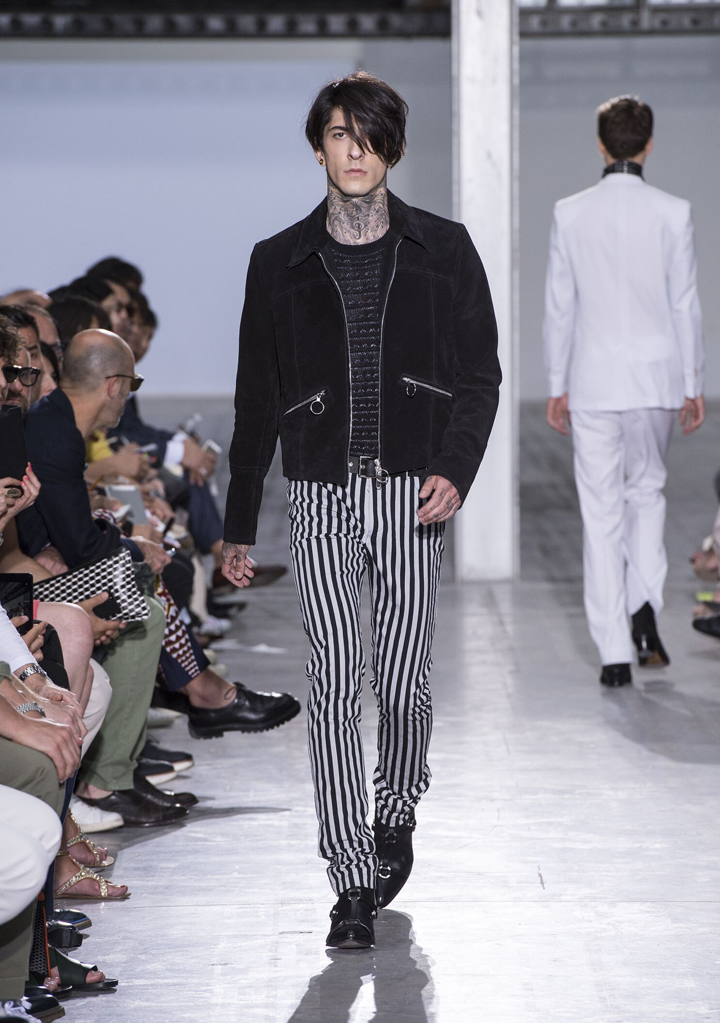 Catwalk Costume National Homme Summer 2015