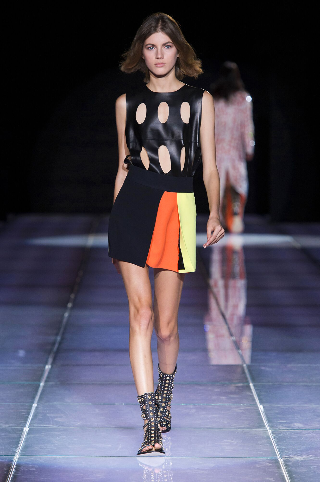 Catwalk Fausto Puglisi Woman Fashion Show Summer 2015
