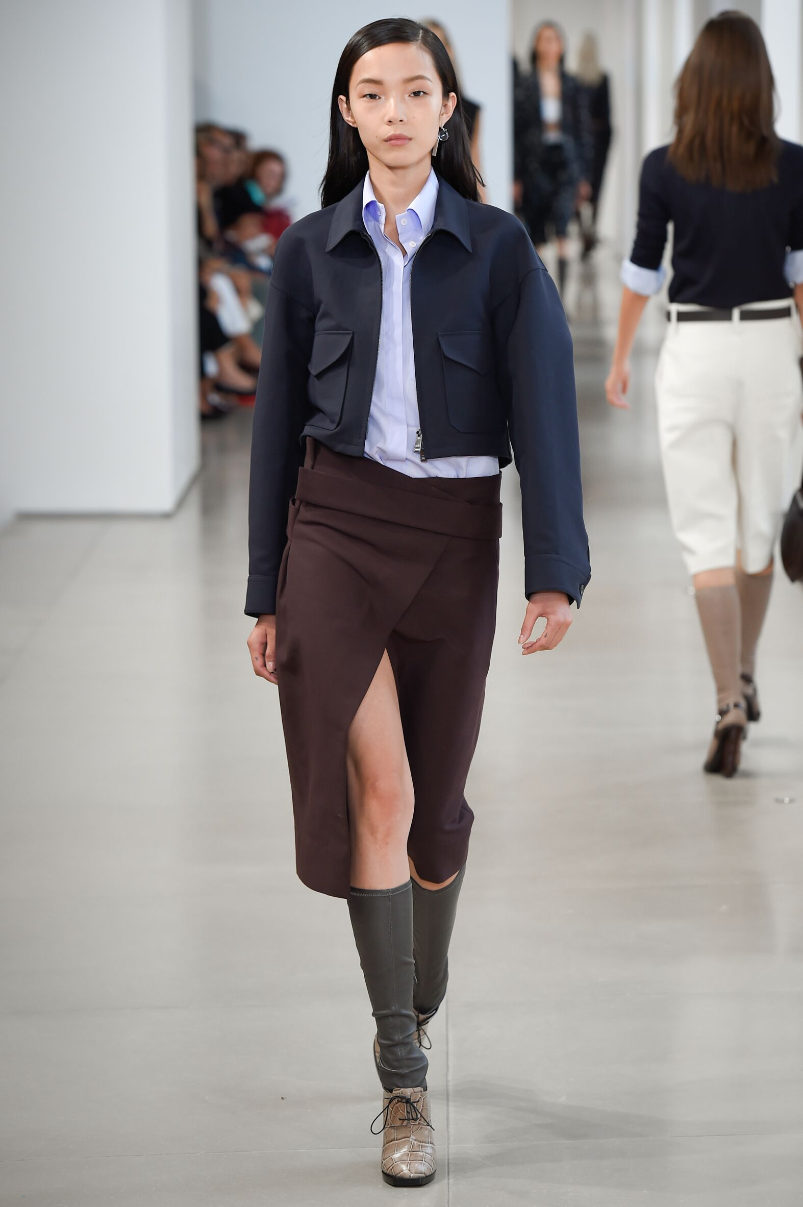 Catwalk Jil Sander Woman Fashion Show Summer 2015