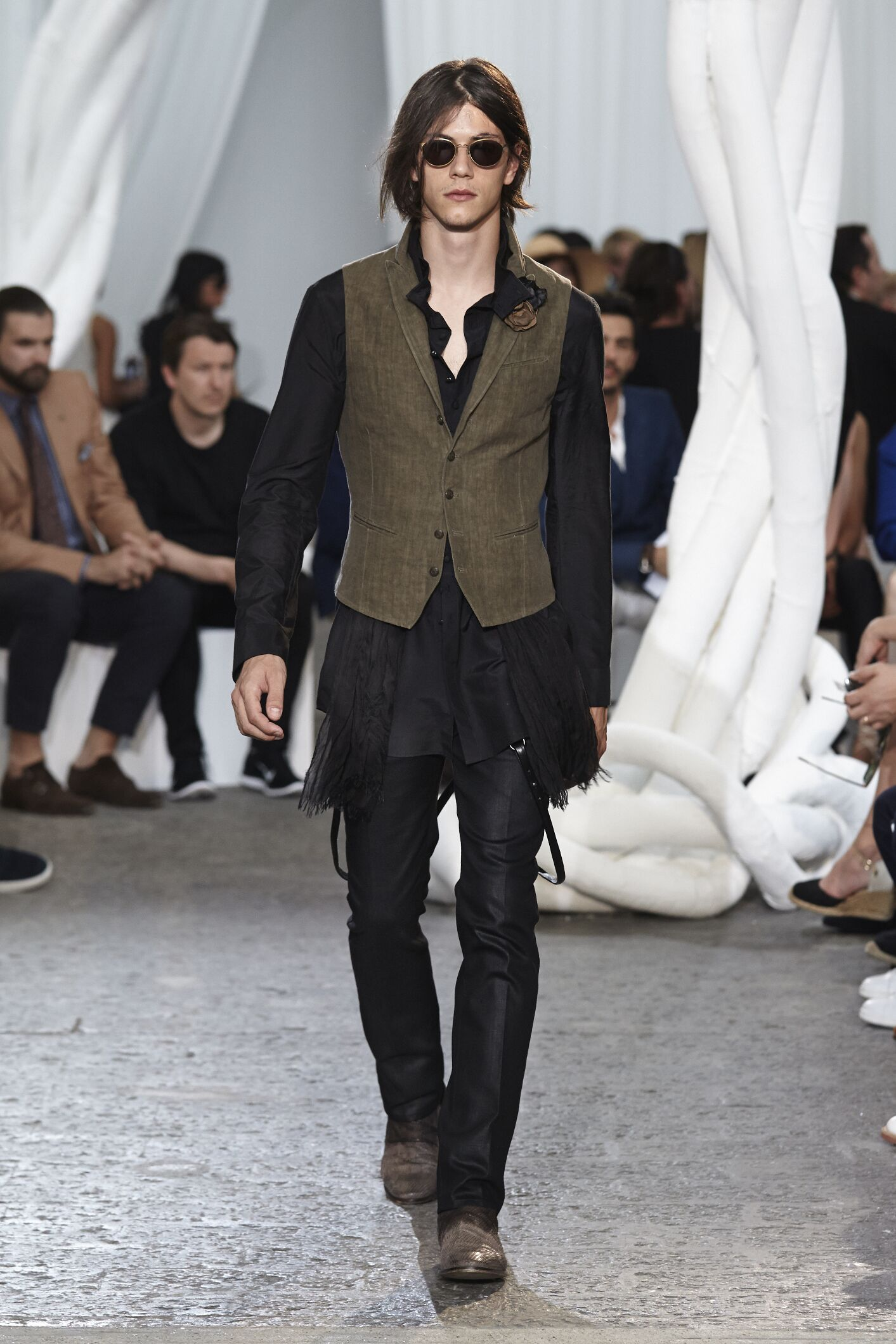 Catwalk John Varvatos Summer 2015