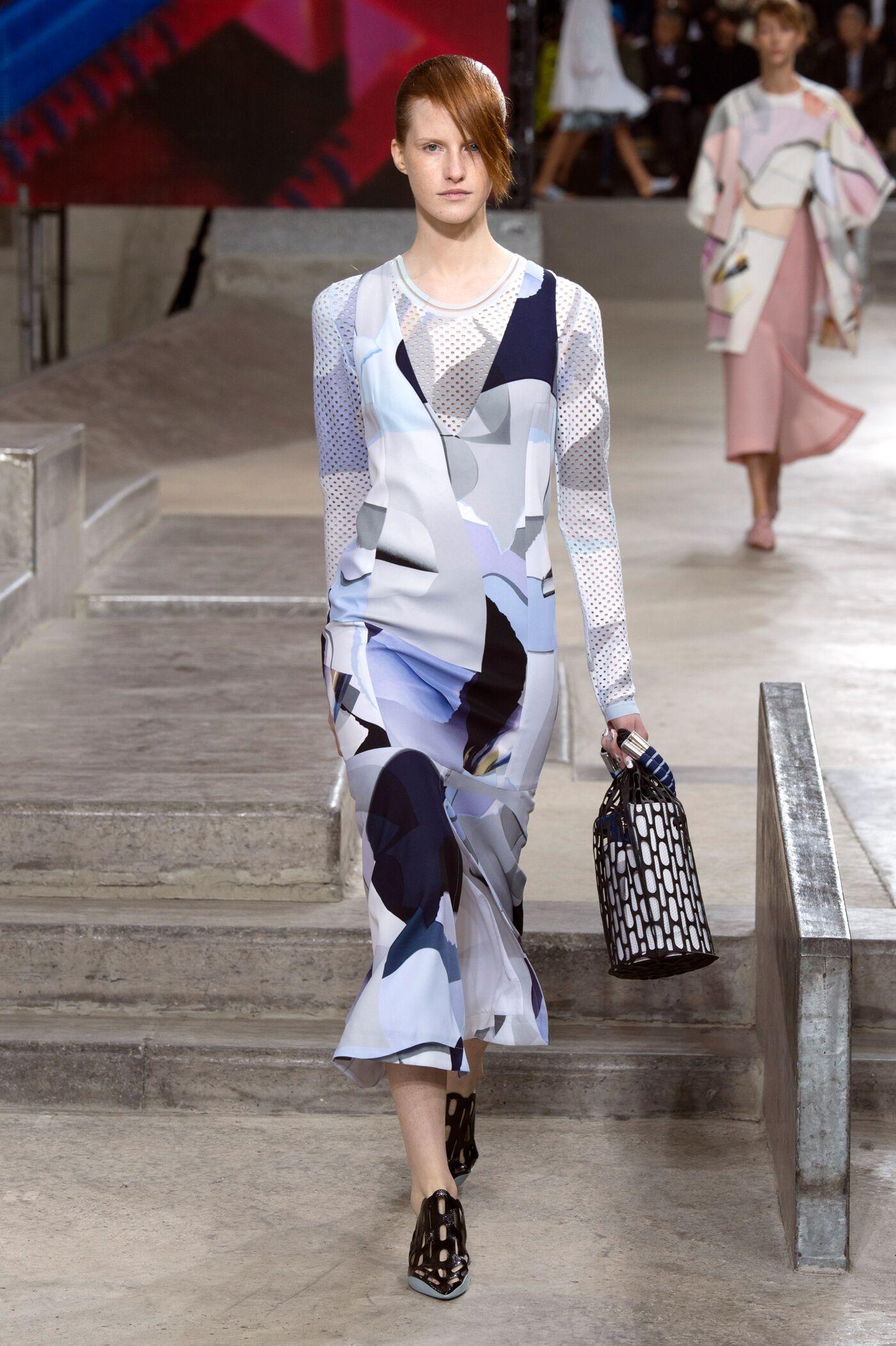 Catwalk Kenzo Woman Fashion Show Summer 2015