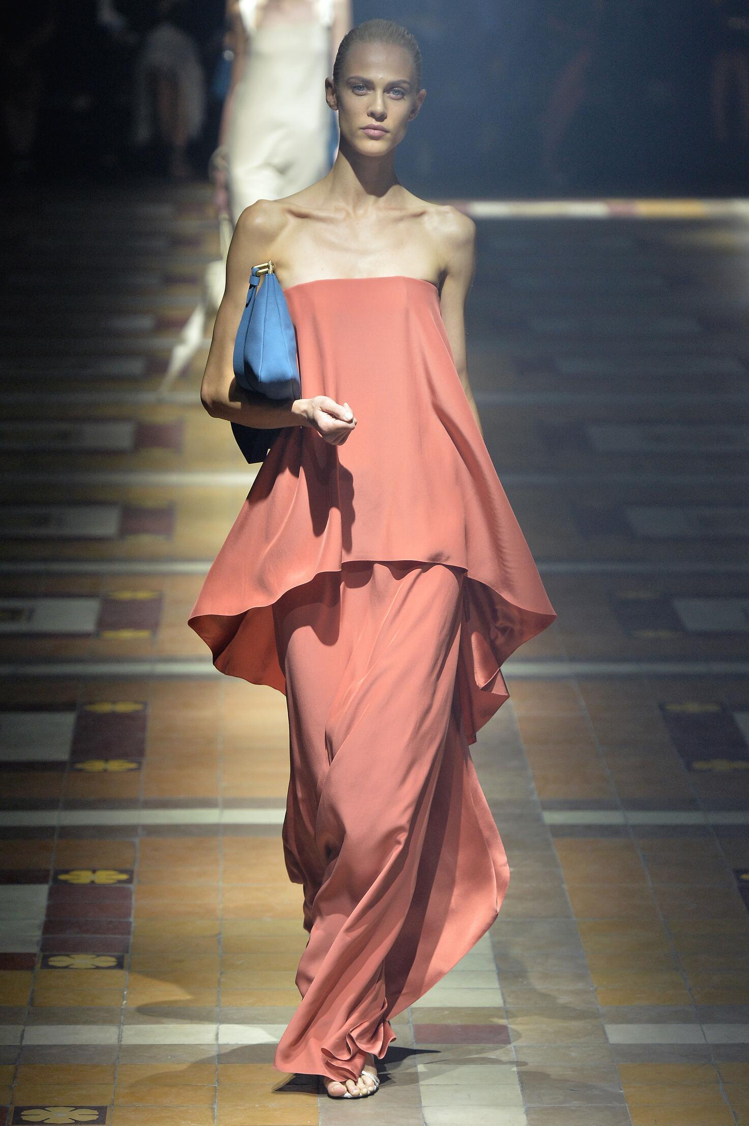 Catwalk Lanvin Woman Fashion Show Summer 2015