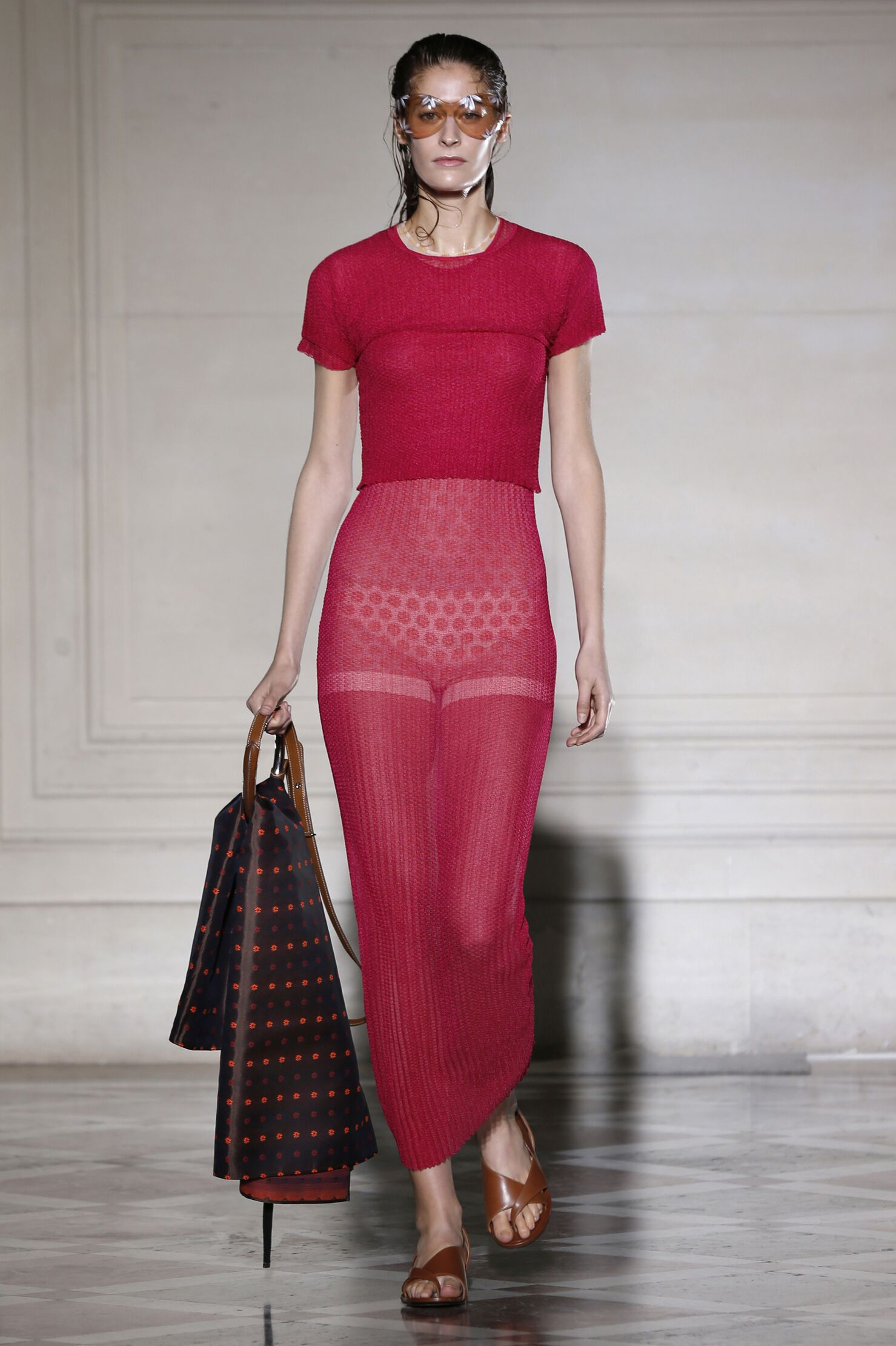Catwalk Maison Martin Margiela Woman Fashion Show Summer 2015