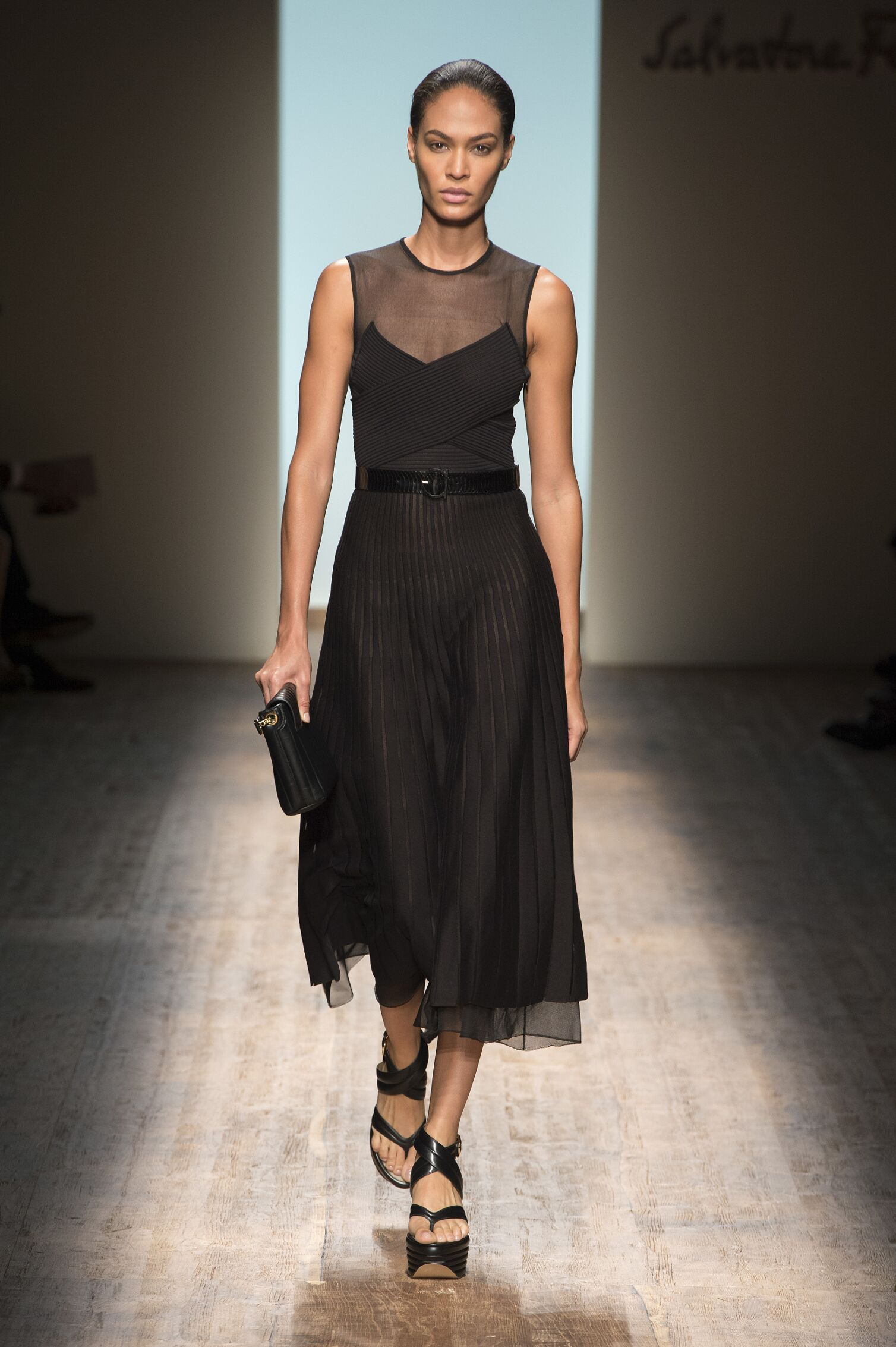Catwalk Salvatore Ferragamo Woman Fashion Show Summer 2015