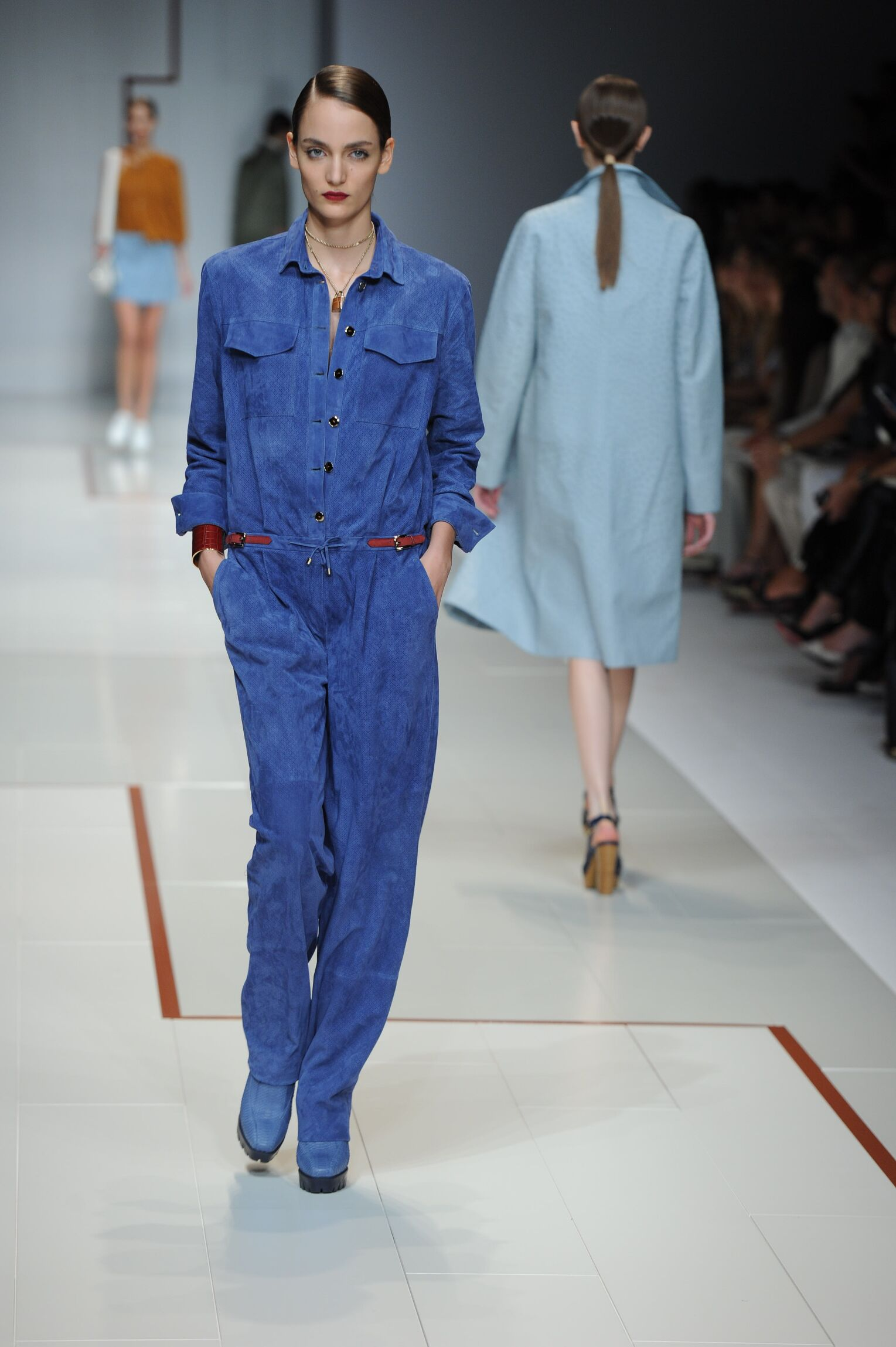 Catwalk Trussardi Summer 2015