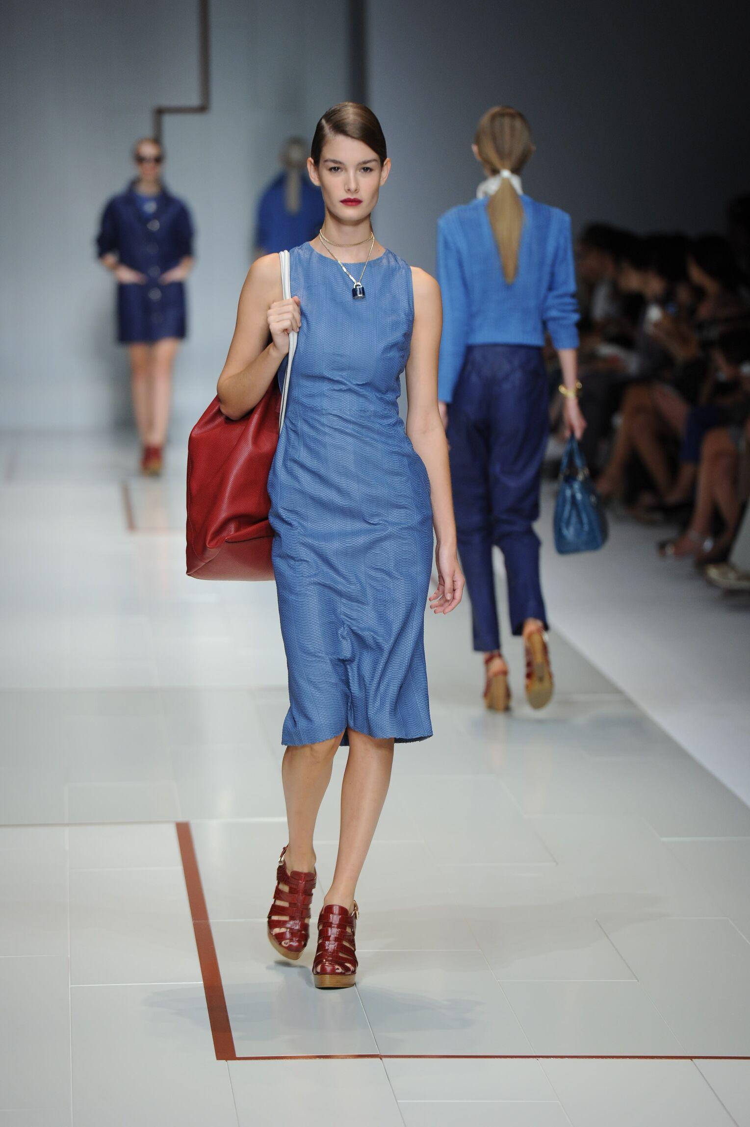 Catwalk Trussardi Woman Fashion Show Summer 2015