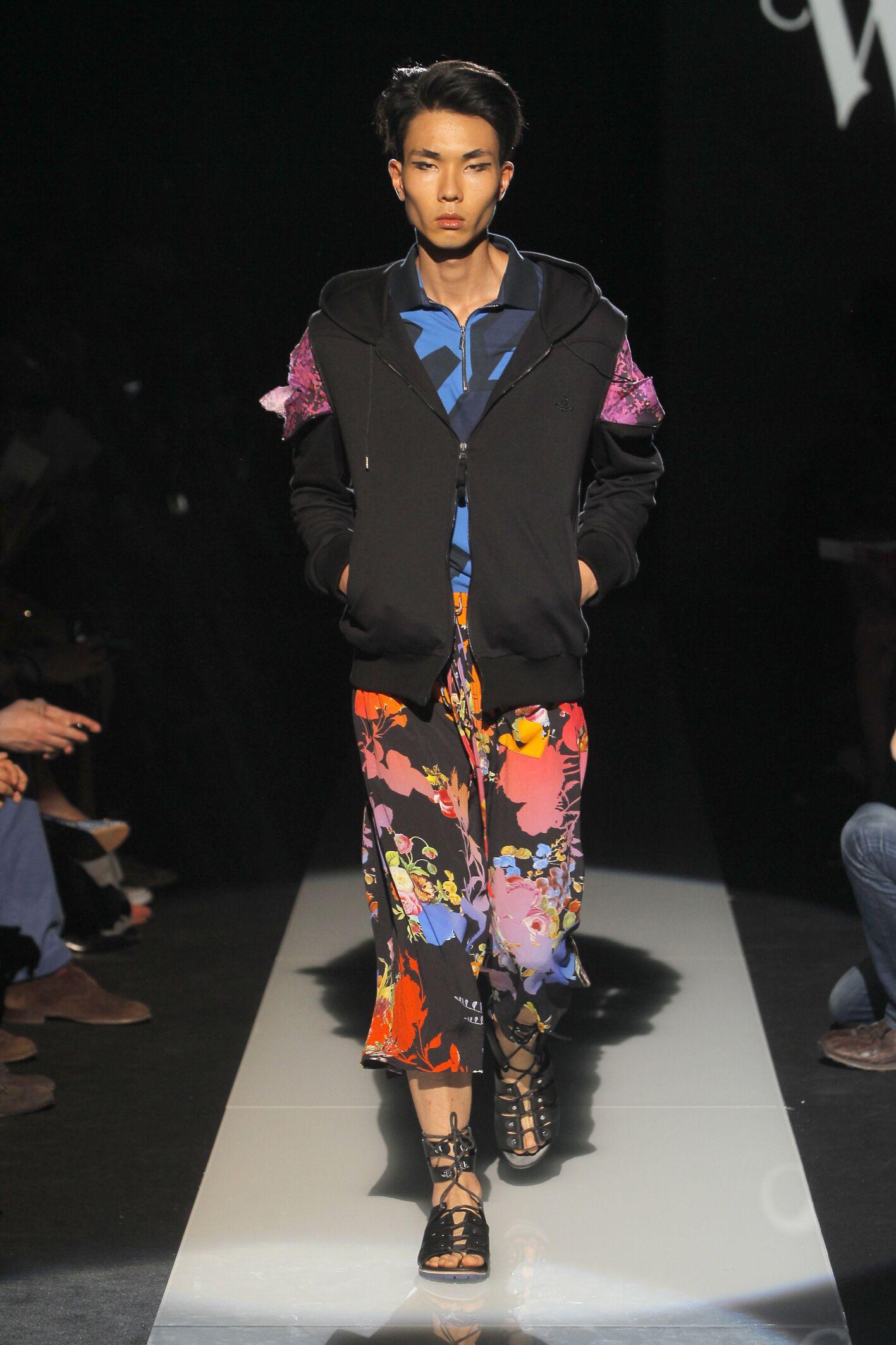 Catwalk Vivienne Westwood Man Fashion Show Summer 2015