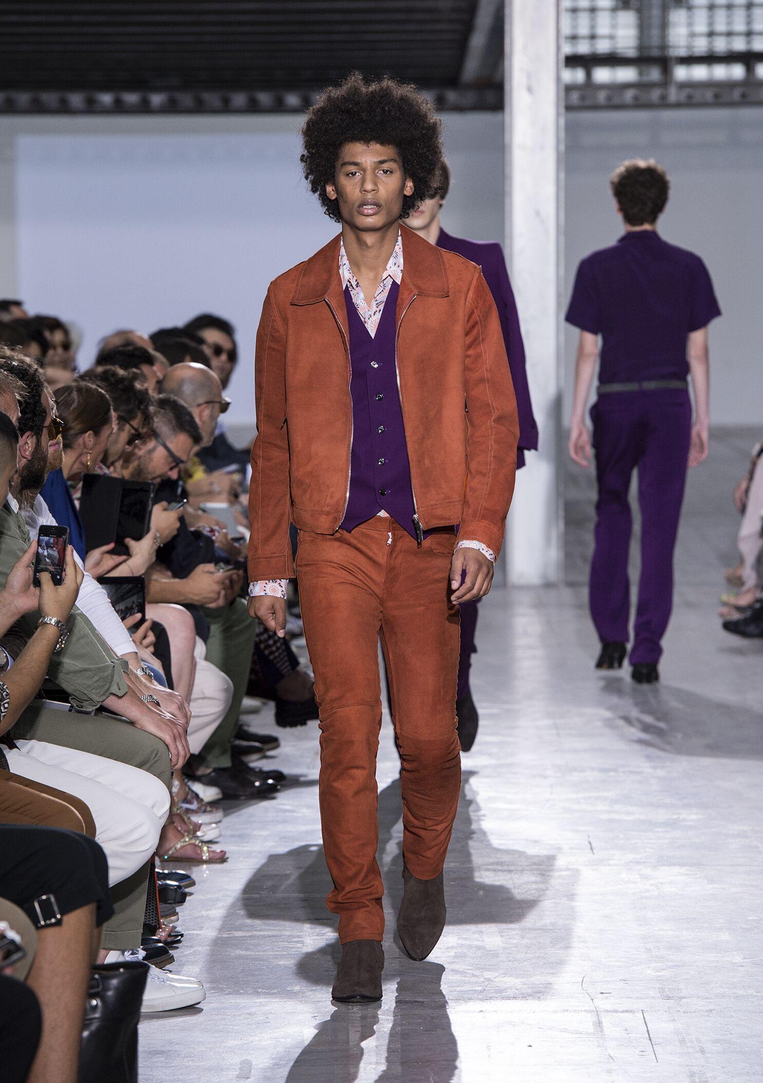 Costume National Homme Milan Fashion Week