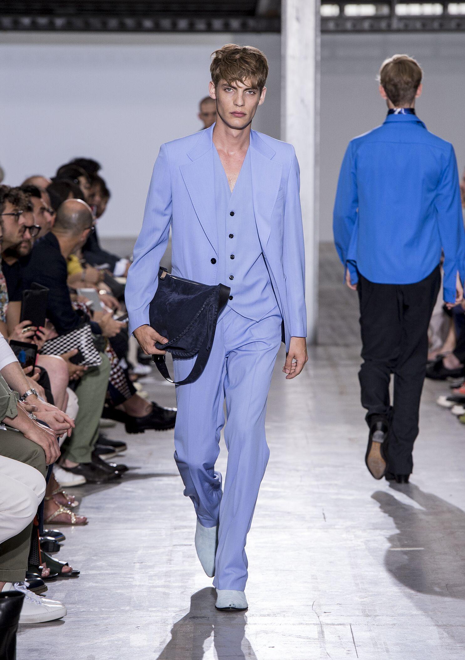 Costume National Homme Summer 2015 Catwalk