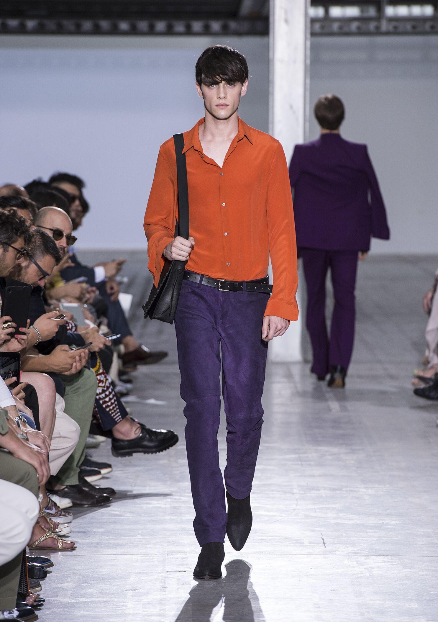 Costume National Milan Fashion Week Menswear