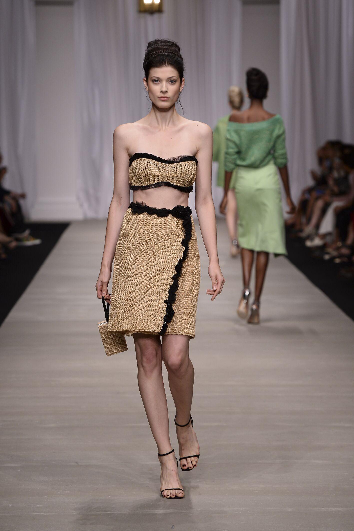 ERMANNO SCERVINO SPRING SUMMER 2015 WOMEN'S COLLECTION ...