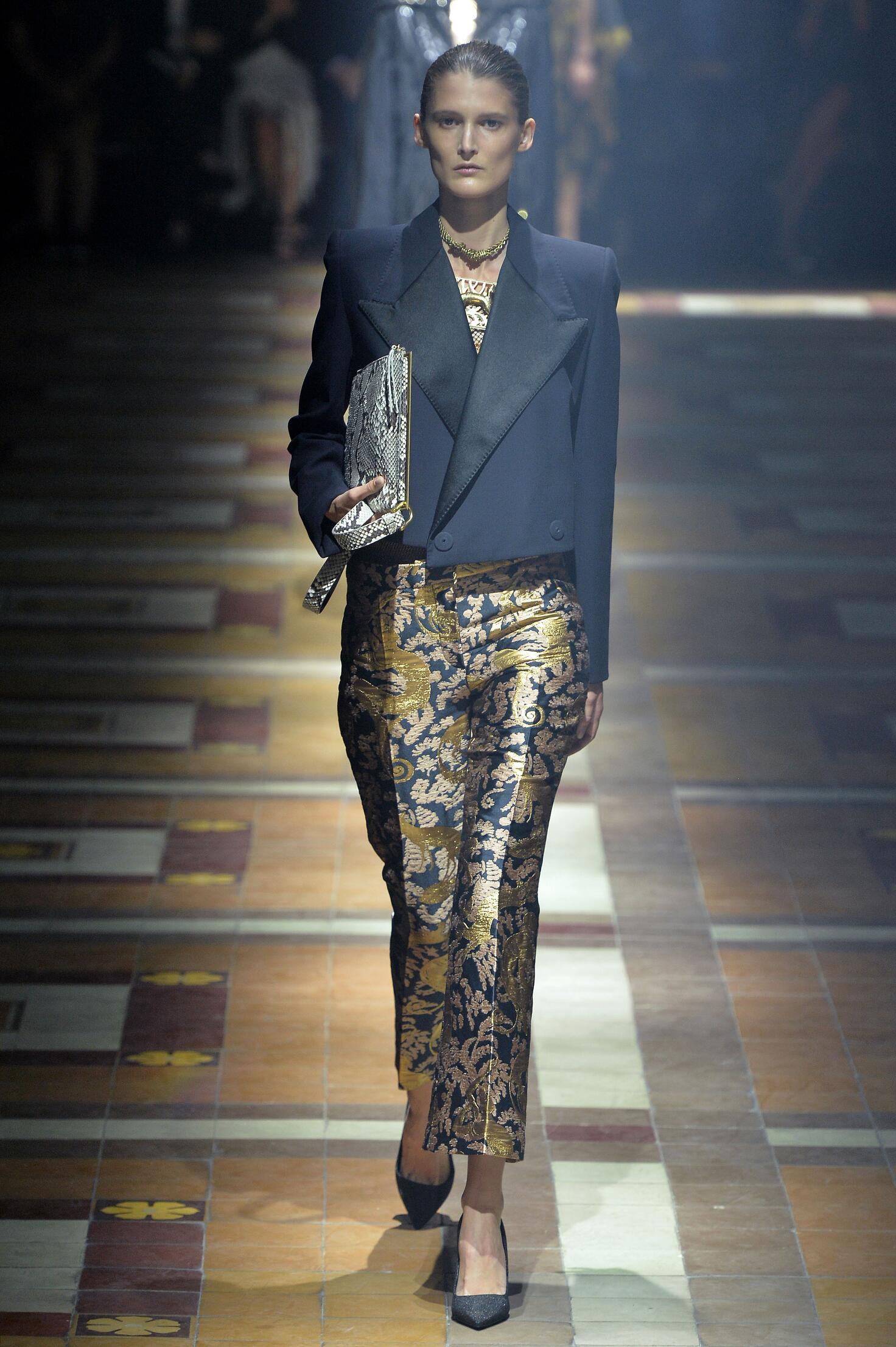 Fashion 2015 Catwalk Lanvin