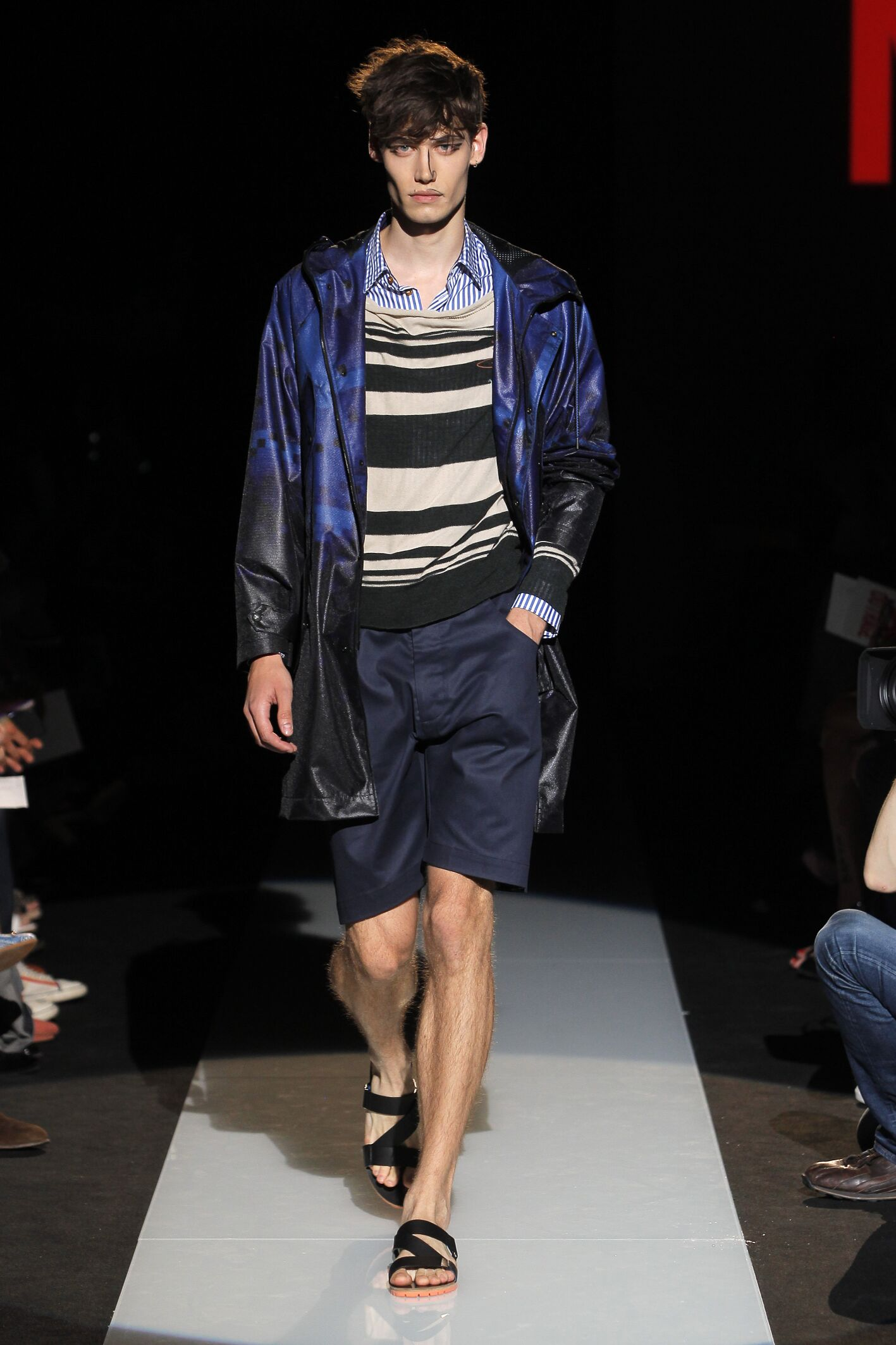 Fashion Man Model Vivienne Westwood Catwalk