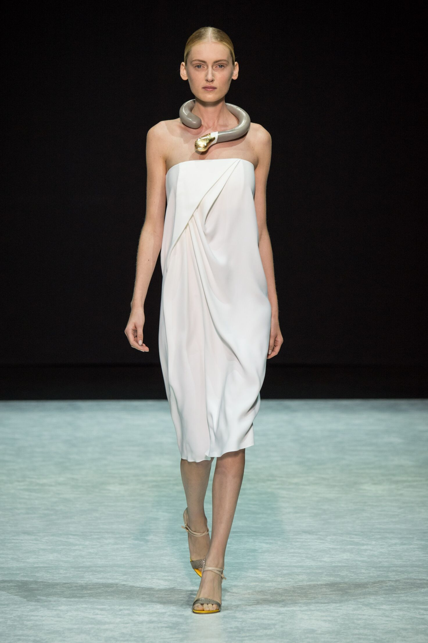 Fashion Model Angelos Bratis Catwalk