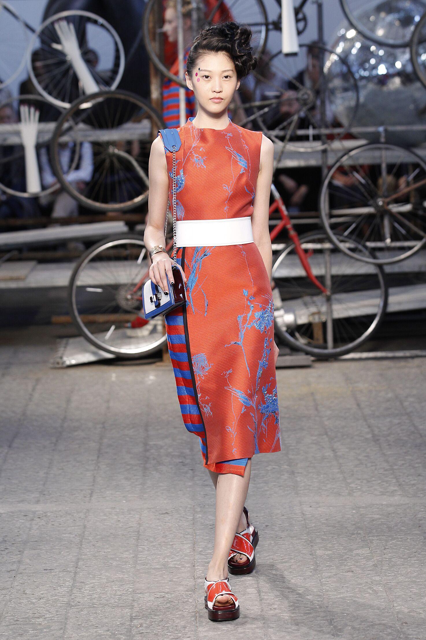 Fashion Model Antonio Marras Catwalk Womenswear