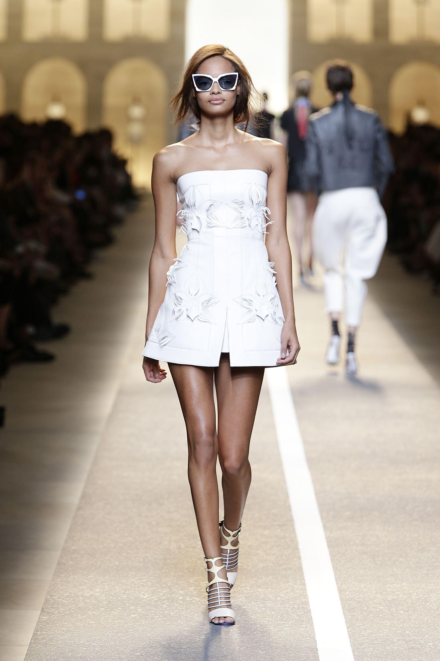 Fashion Model Fendi Catwalk Womenswear