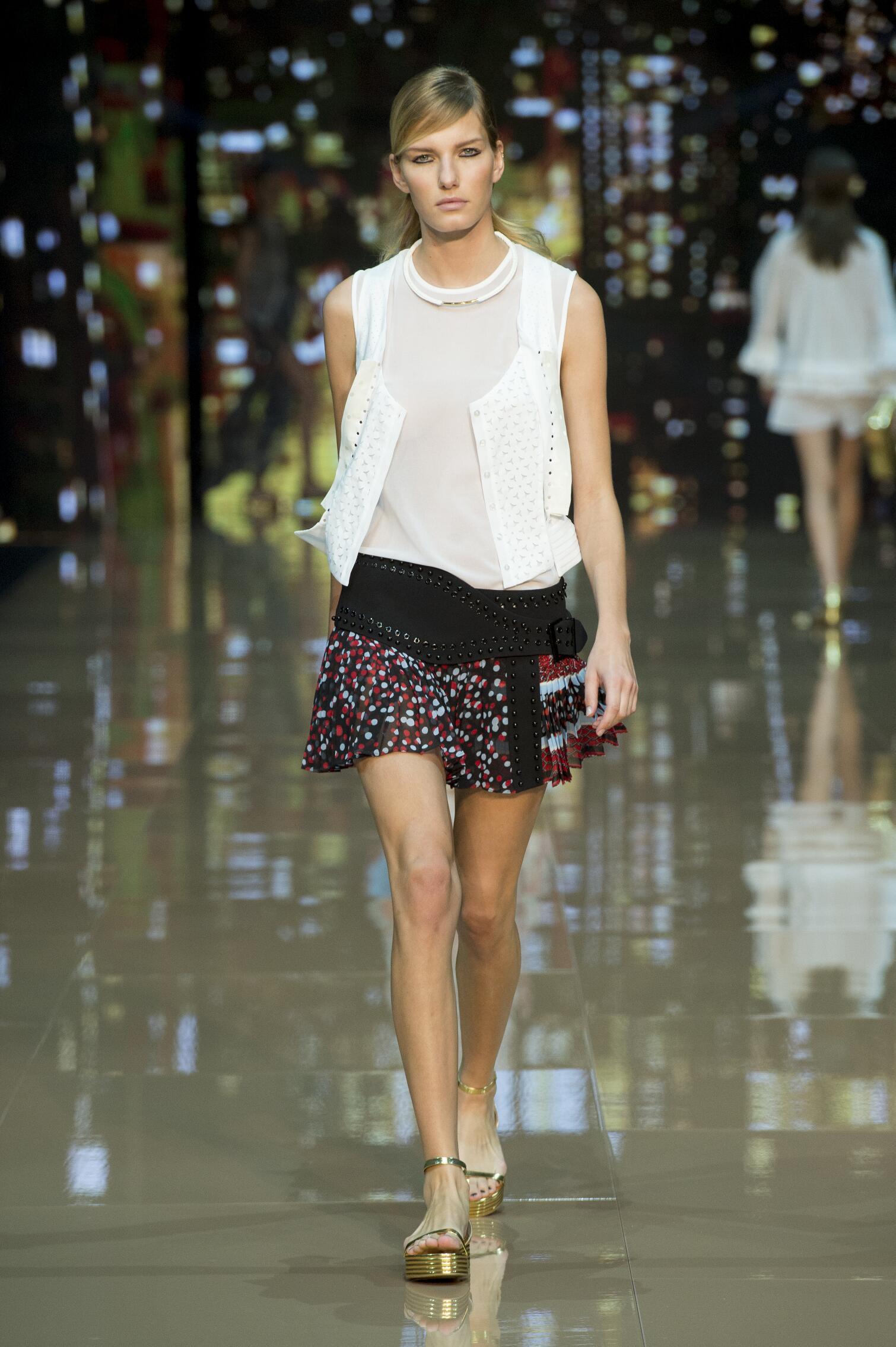 Fashion Model Just Cavalli Catwalk