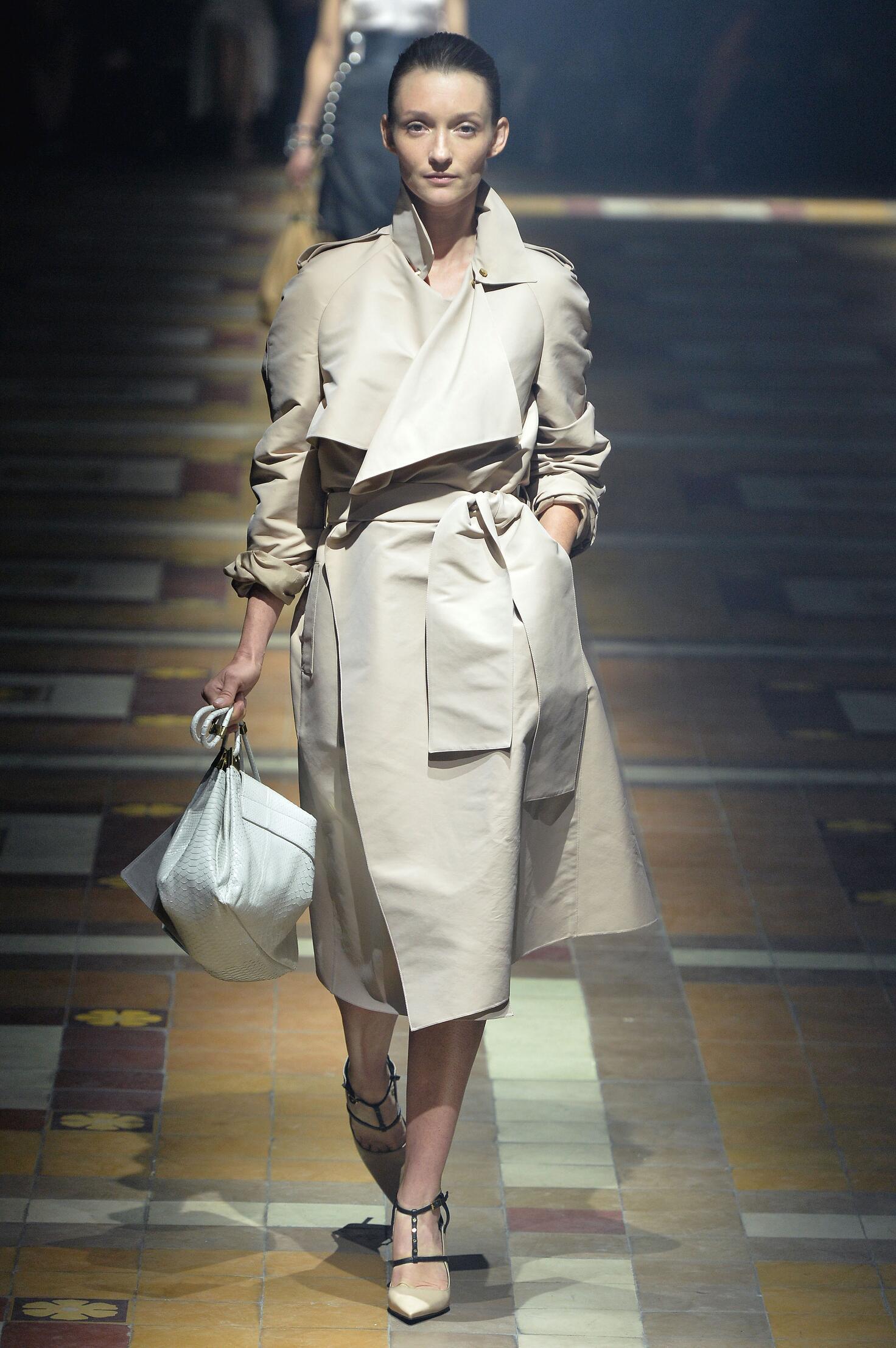 Fashion Model Lanvin Catwalk