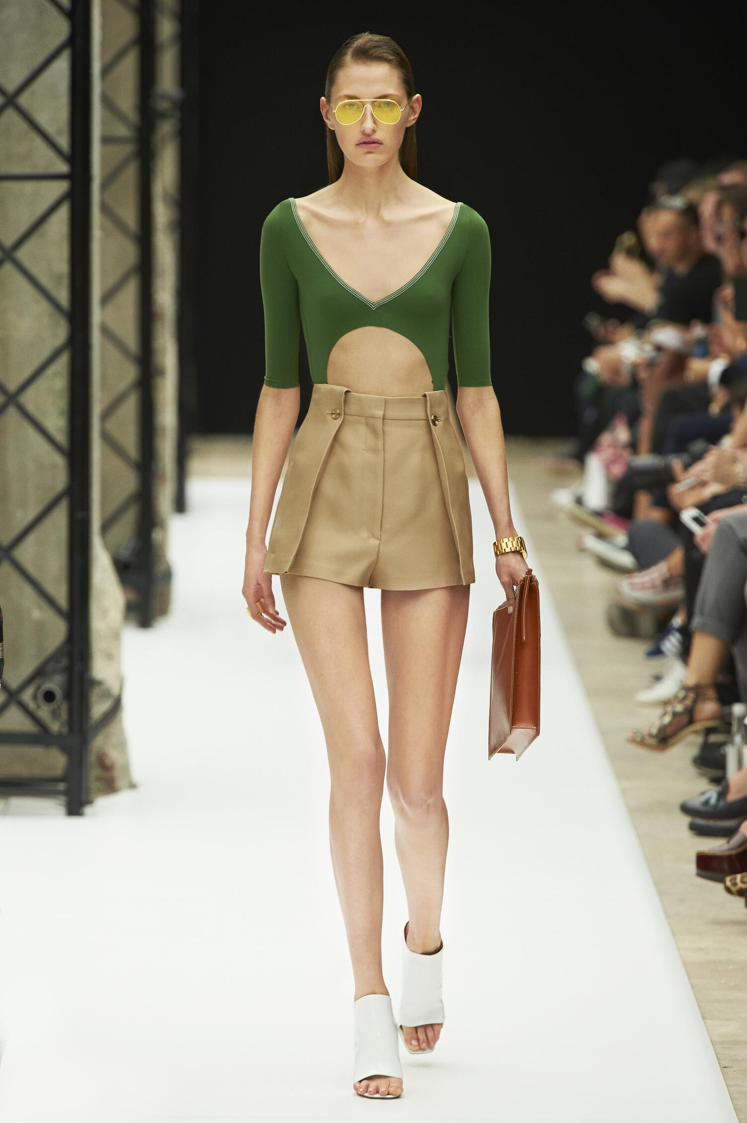Fashion Woman Model Acne Studios Catwalk
