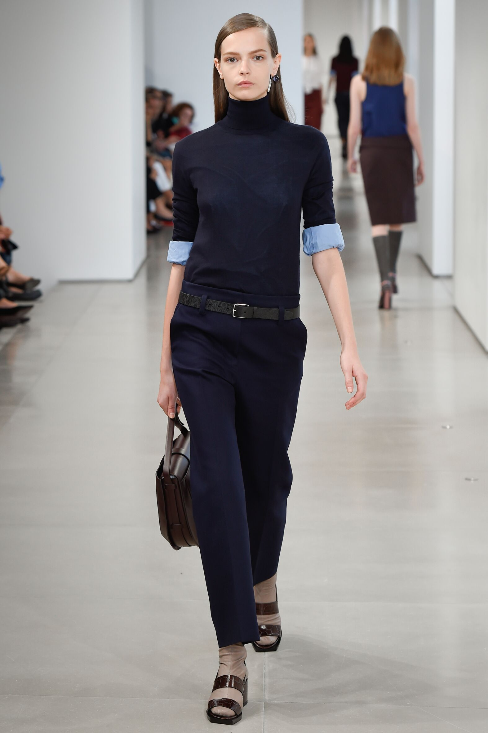 Fashion Woman Model Jil Sander Catwalk
