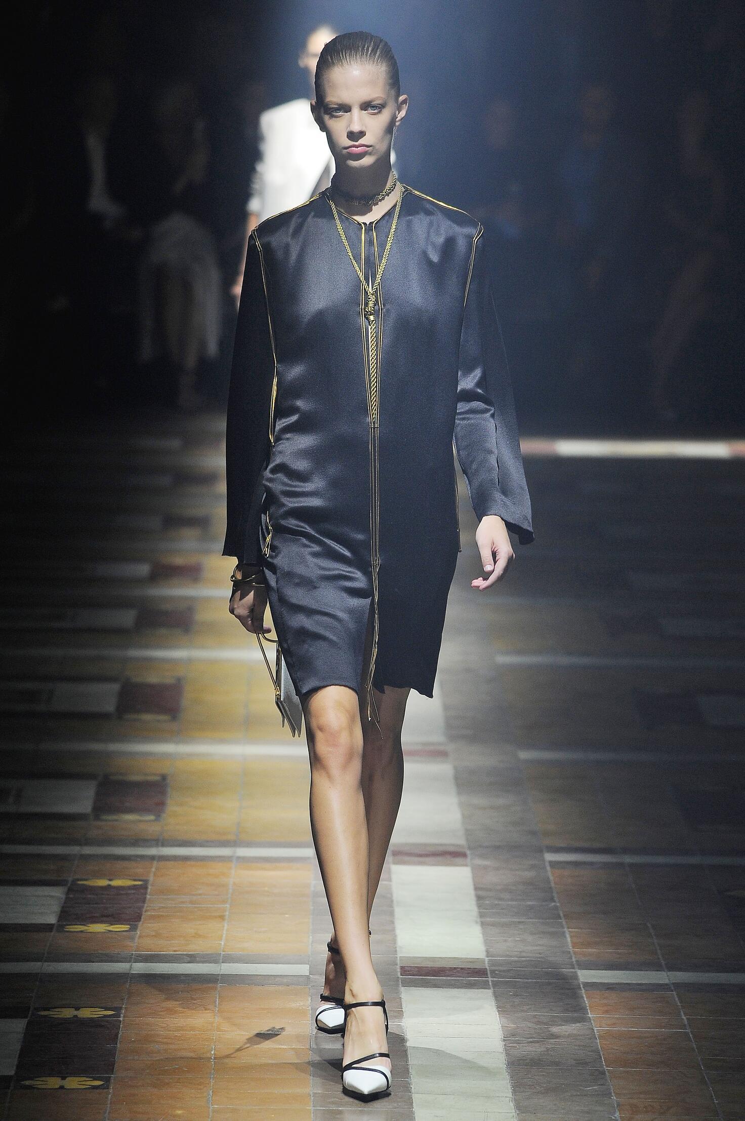Fashion Woman Model Lanvin Catwalk