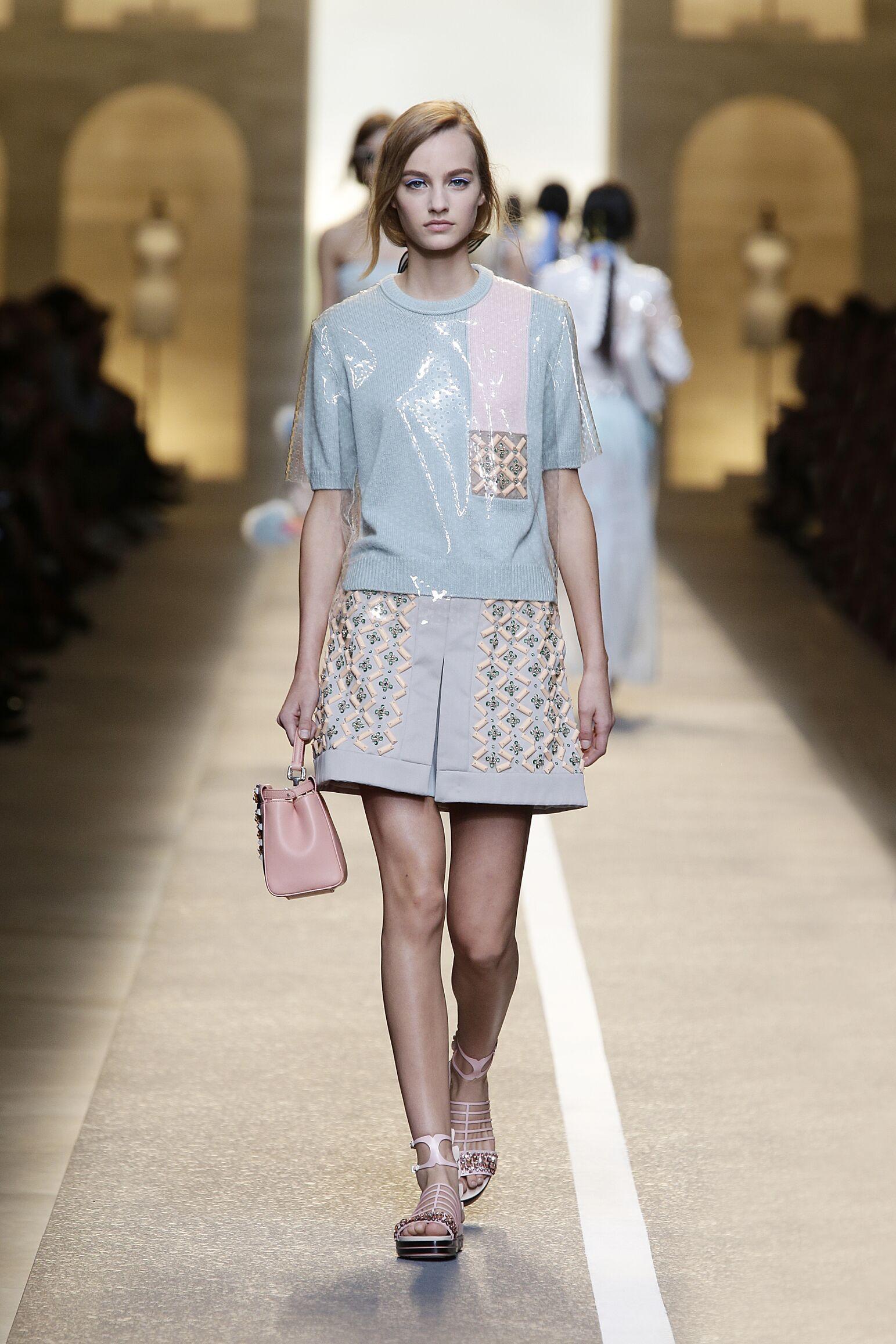 Fendi 2015 Milan Womenswear