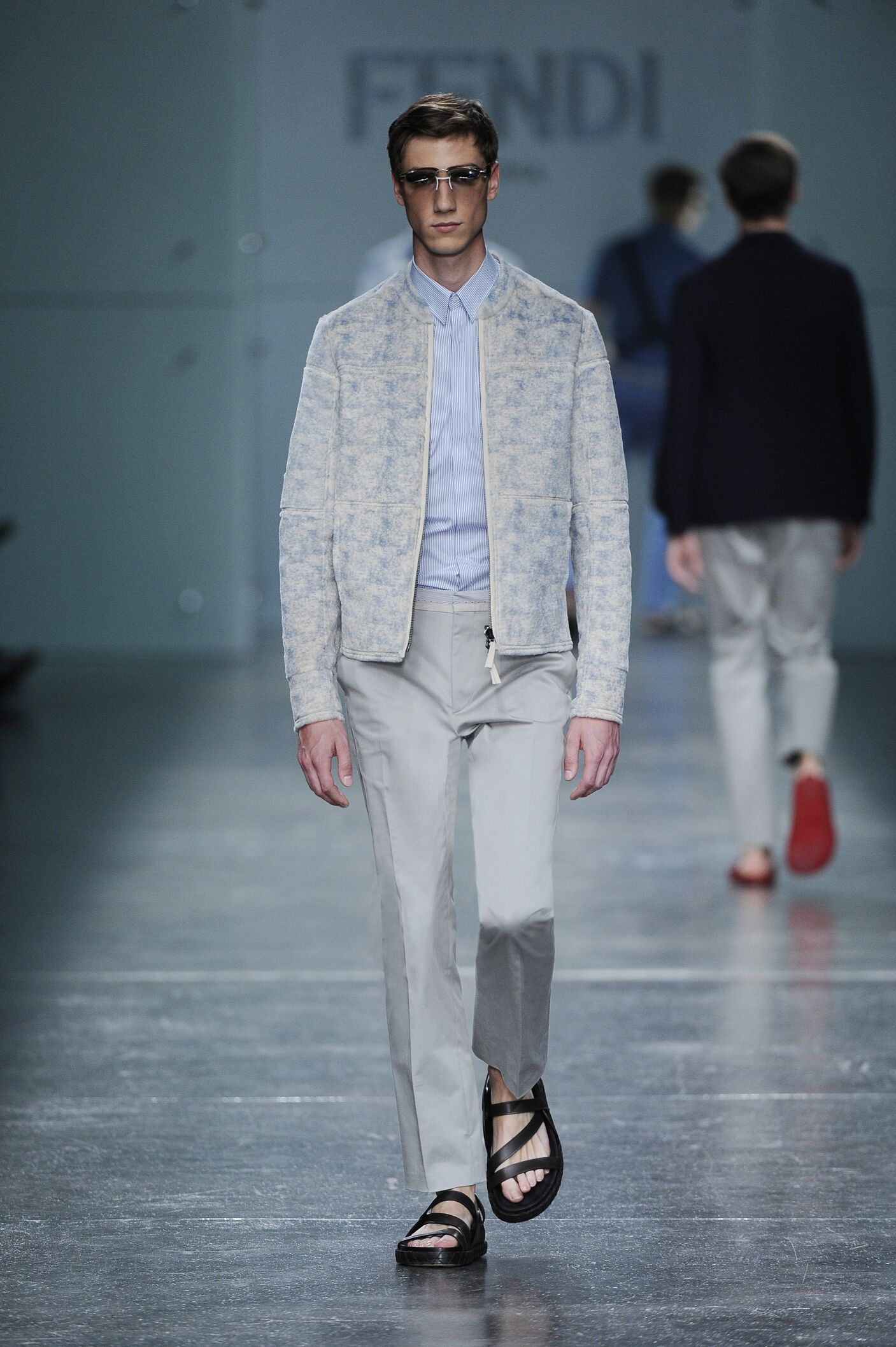 Fendi Spring Summer 2015 Mens Collection Milan Fashion Week