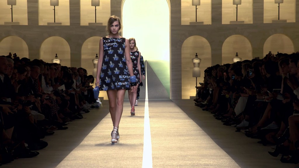 Fendi Spring Summer 2015 Women's Fashion Show - Milan Fashion Week