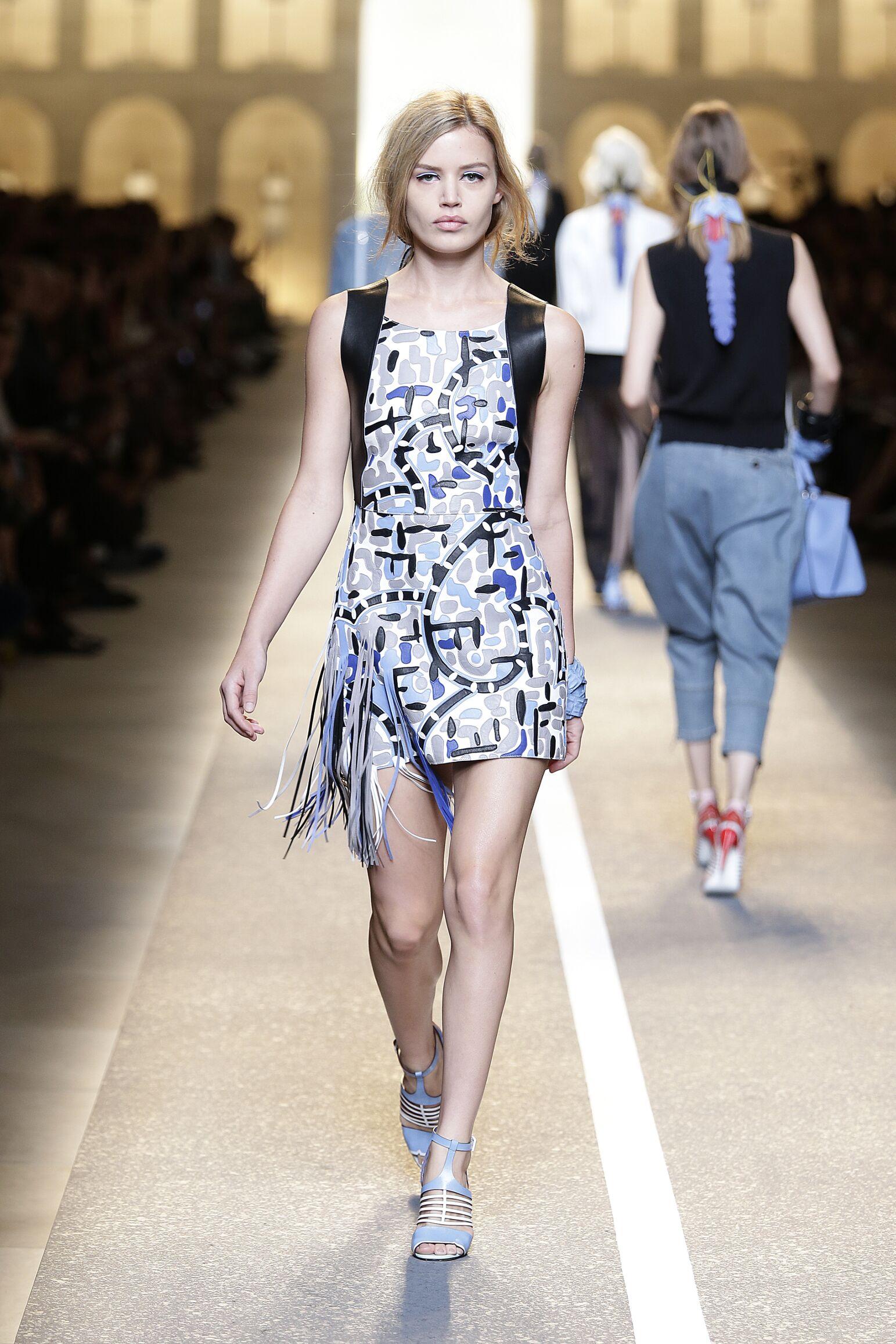 Fendi Summer 2015 Catwalk Womanswear