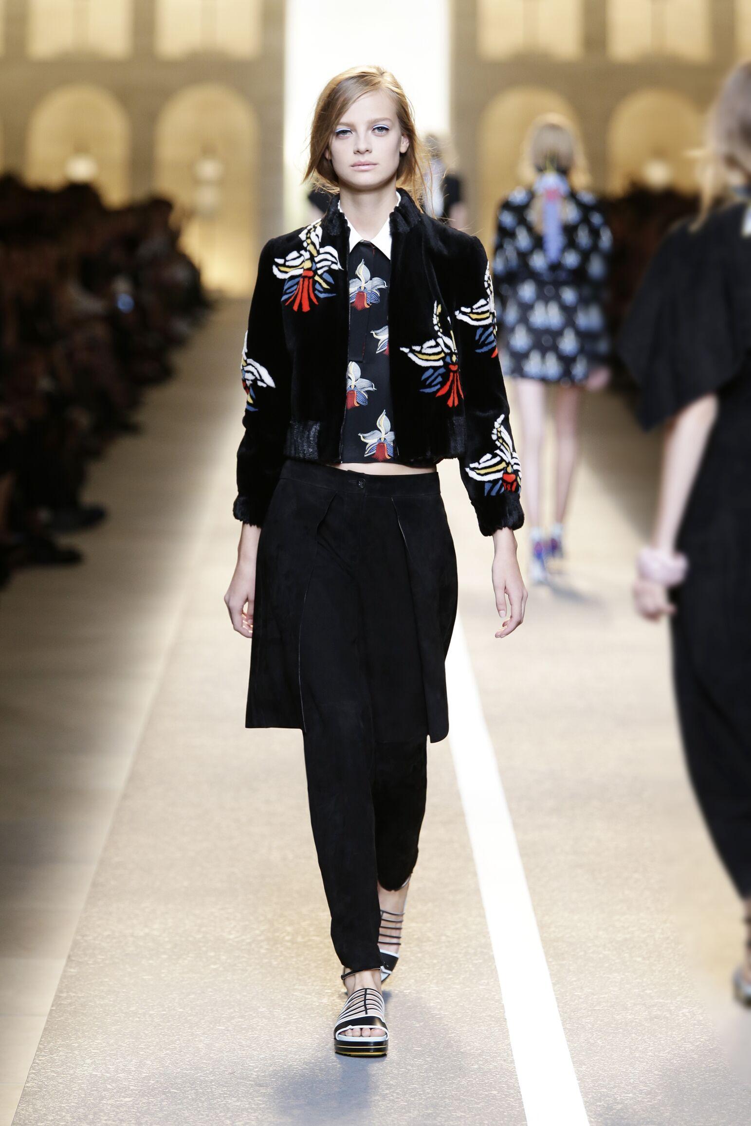 Fendi Summer 2015 Womens Collection Milan Fashion Week