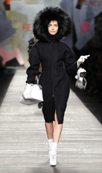 FENDI FALL WINTER 2014-15 WOMEN'S COLLECTION – MILANO FASHION WEEK