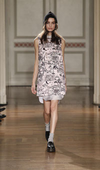 FRANKIE MORELLO FALL WINTER 2014-15 WOMEN'S COLLECTION – MILANO FASHION WEEK