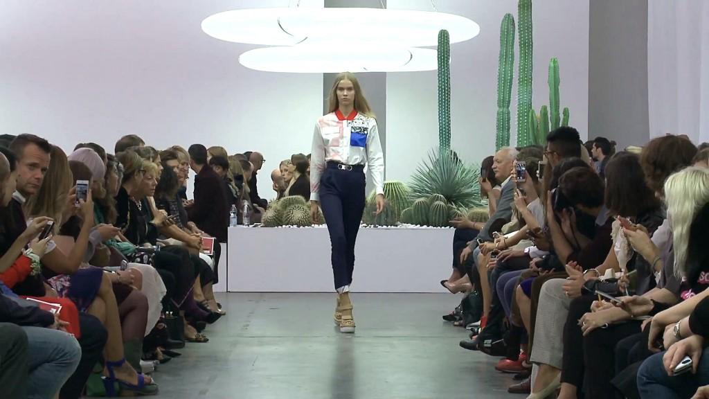 Iceberg Spring Summer 2015 Women's Fashion Show