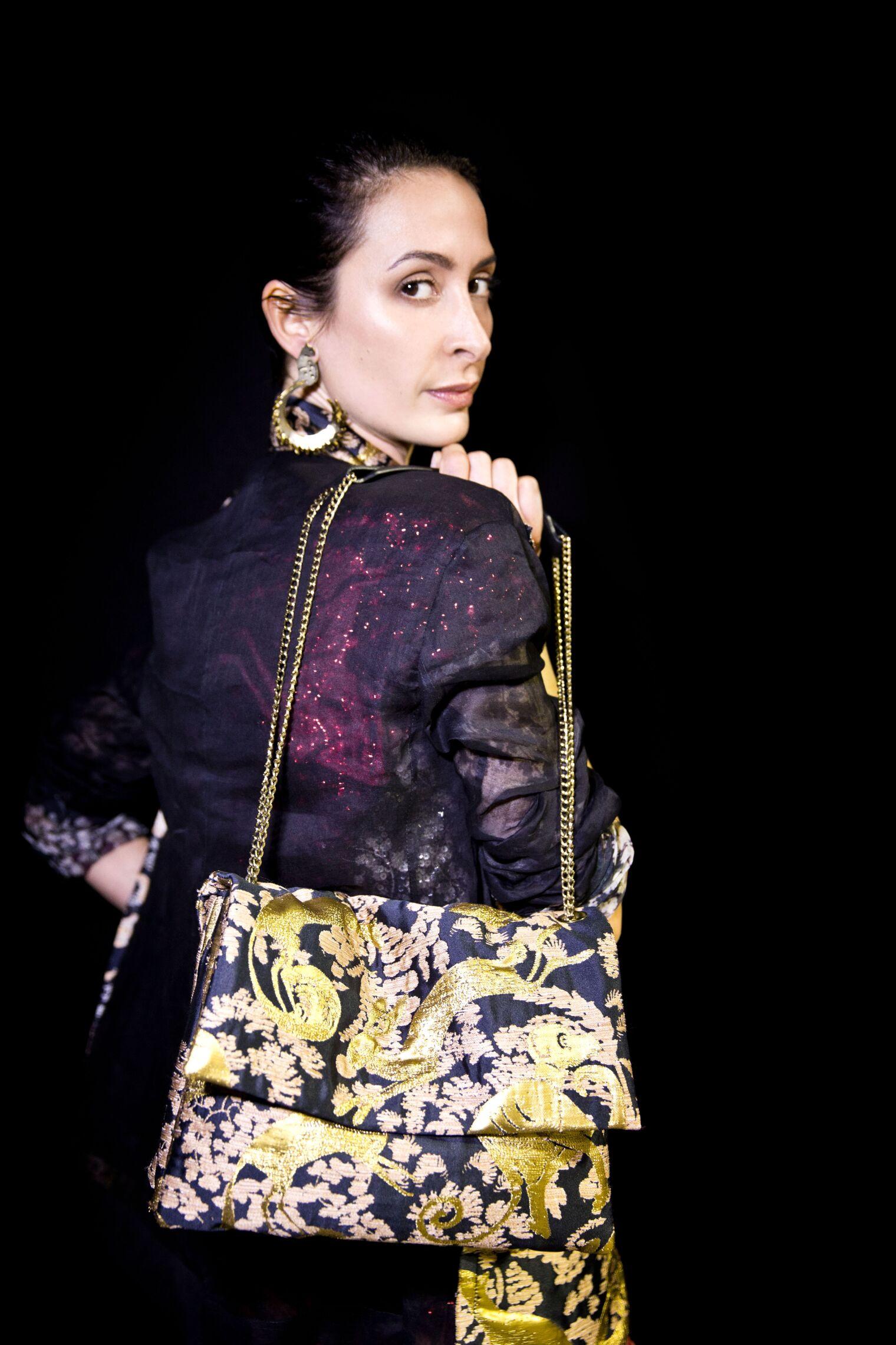 Lanvin Backstage Woman Model