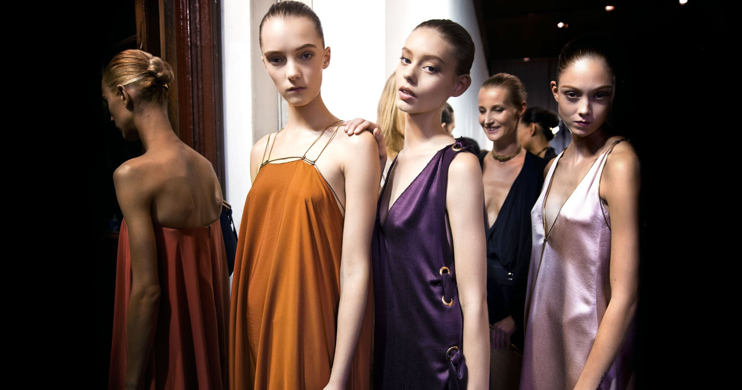 Lanvin SS 2015 Womenswear Backstage Paris