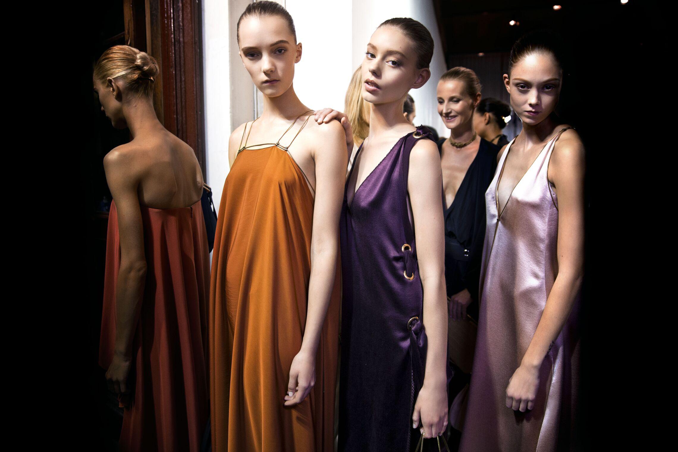 Lanvin SS 2015 Womenswear Backstage Paris