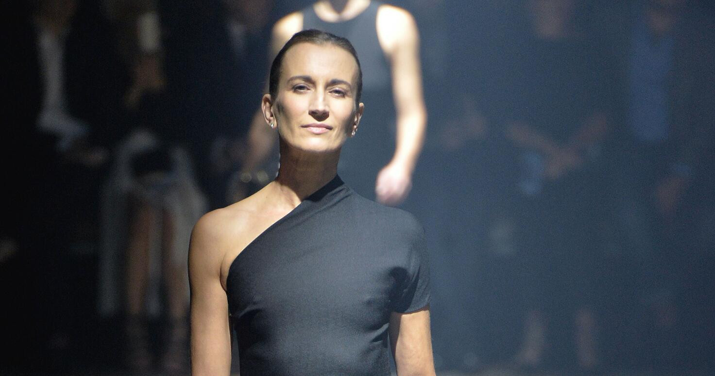 Lanvin Woman Paris Fashion Week