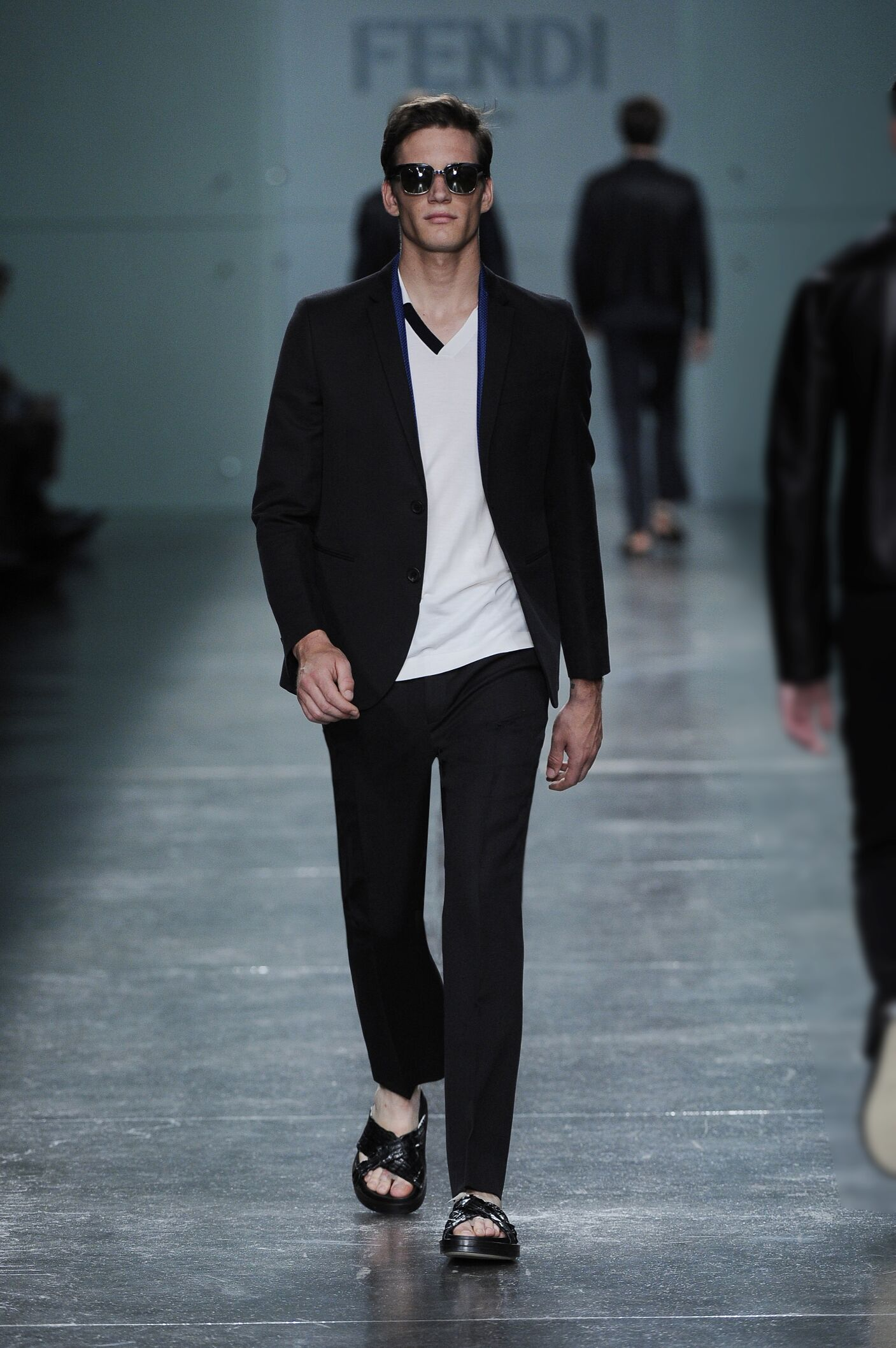Menswear Spring Summer Fendi 2015