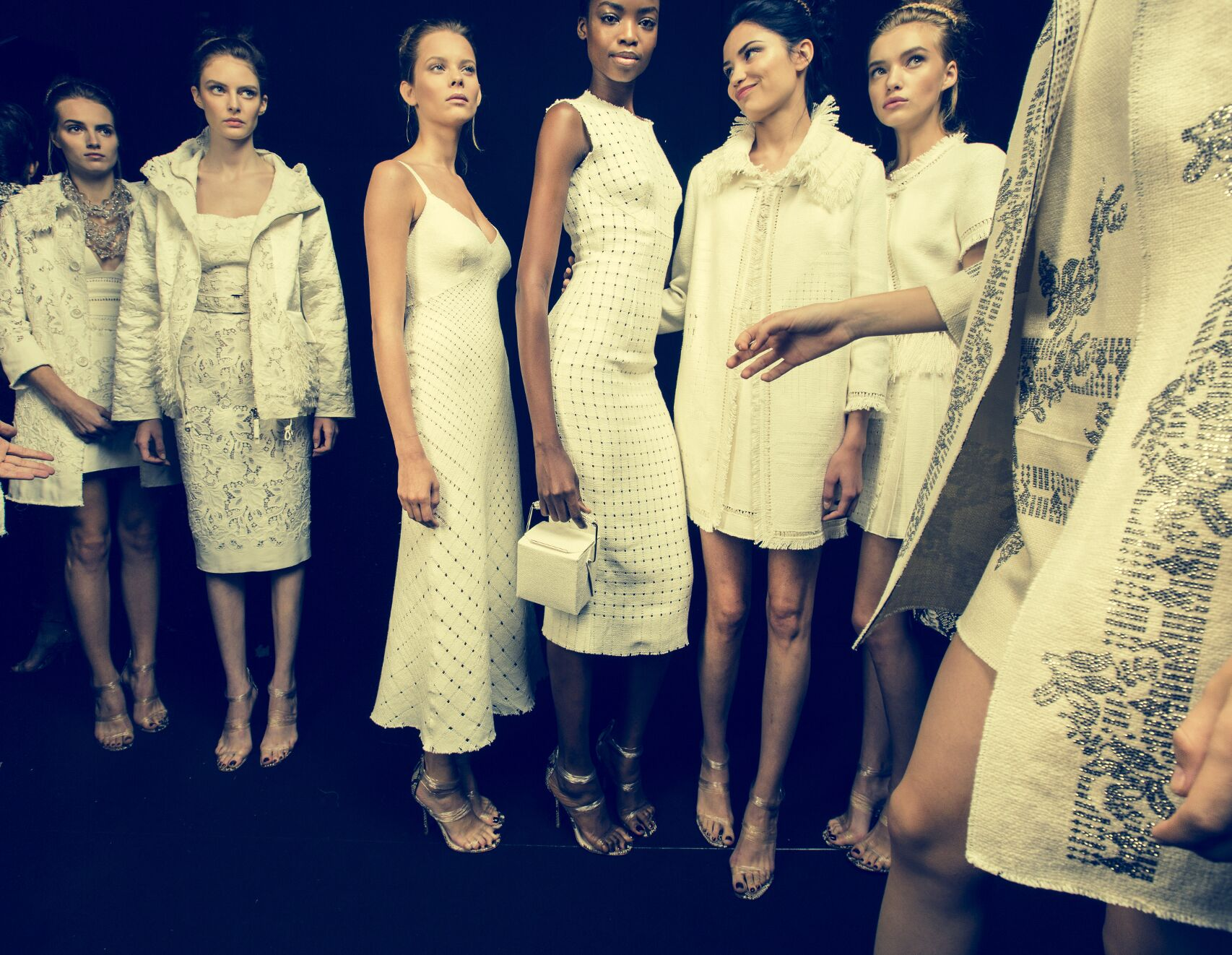 Models Backstage Ermanno Scervino