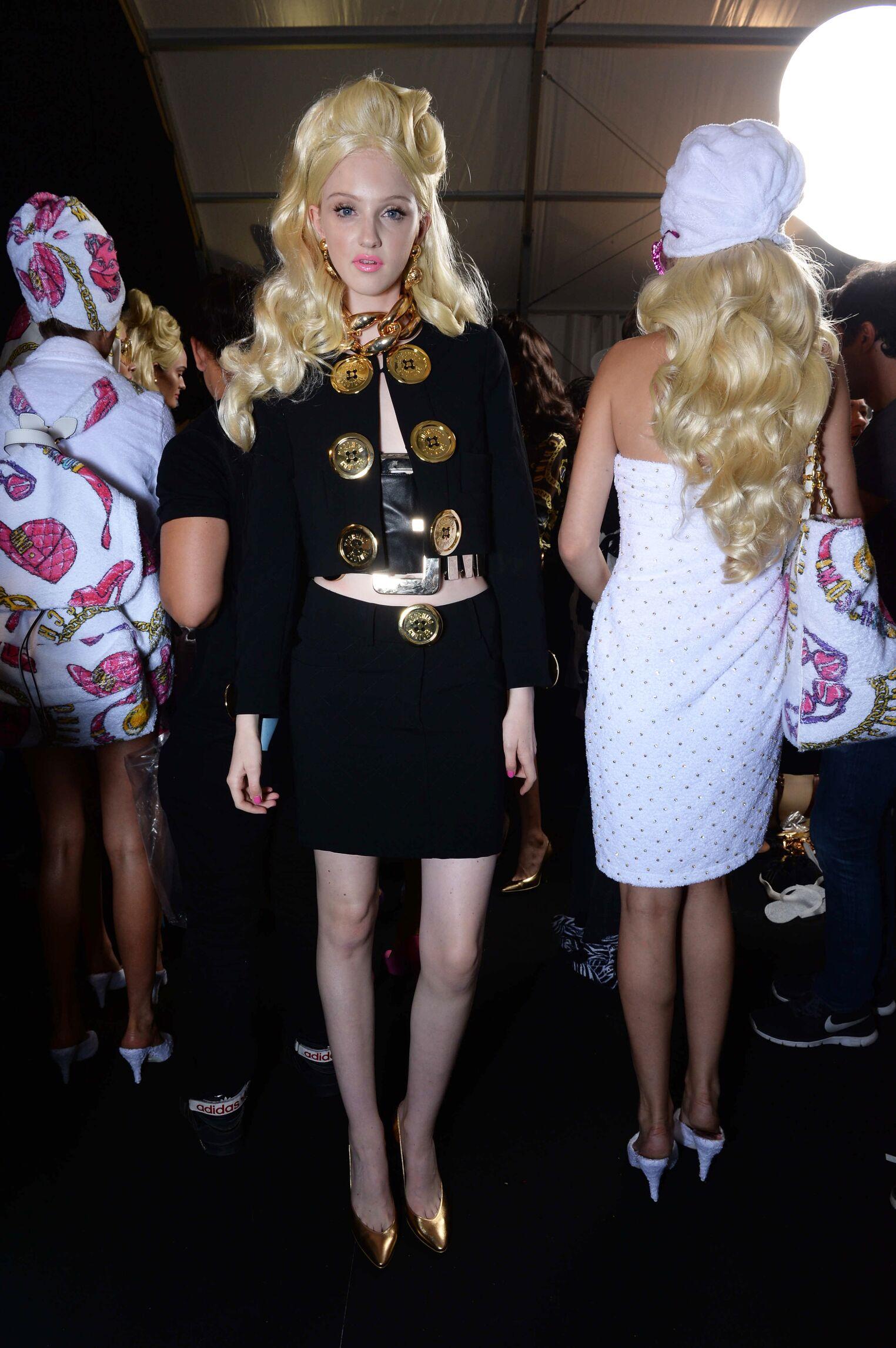 Moschino Fashion Backstage SS 2015