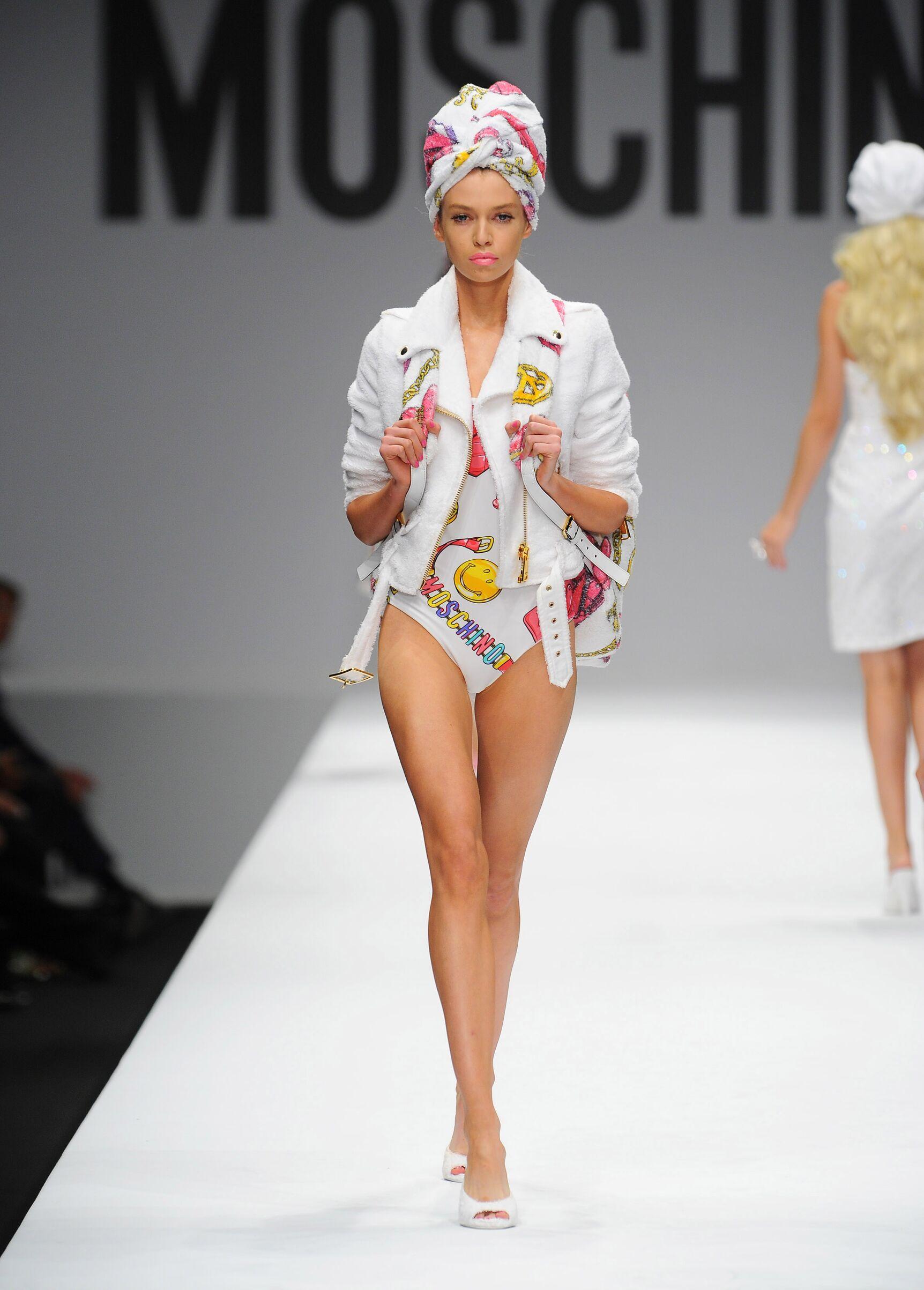 Moschino Spring 2015 Catwalk