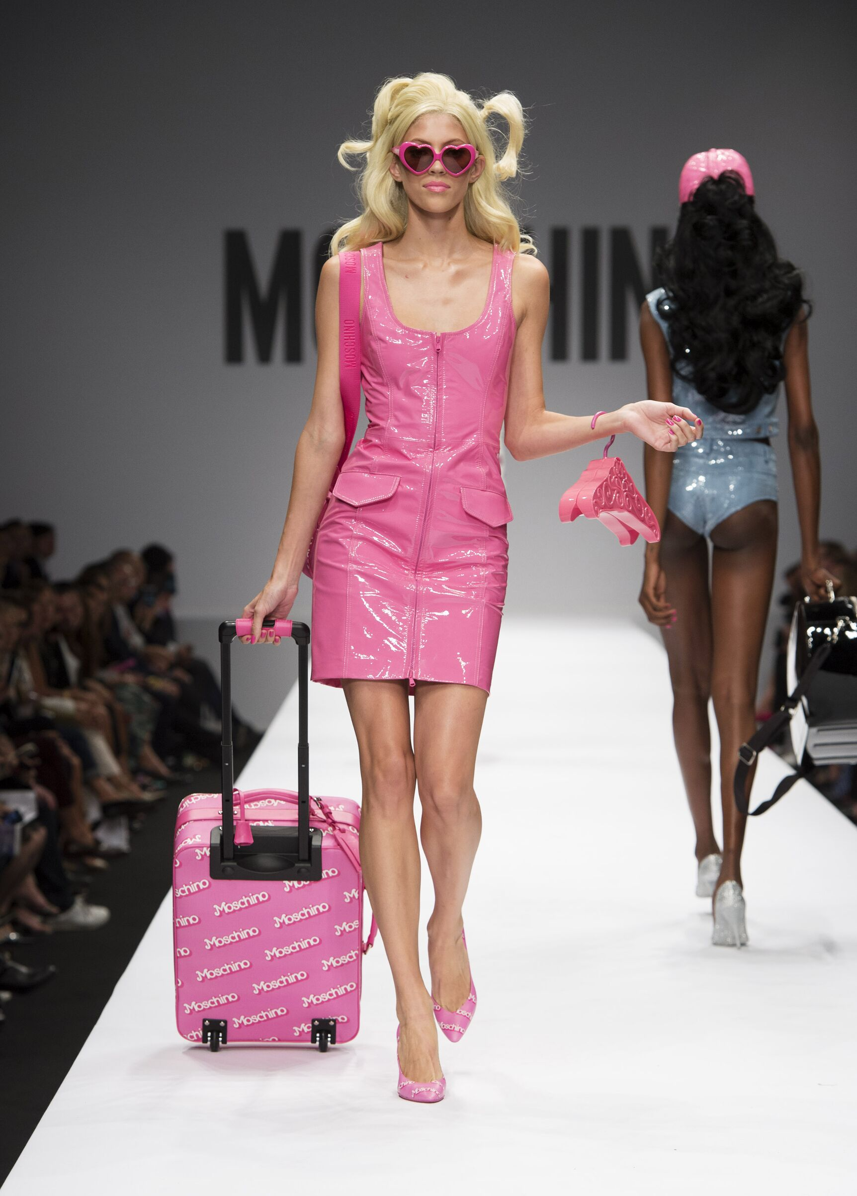 Moschino Spring Summer 2015 Womens Collection Milan Fashion Week Barbie