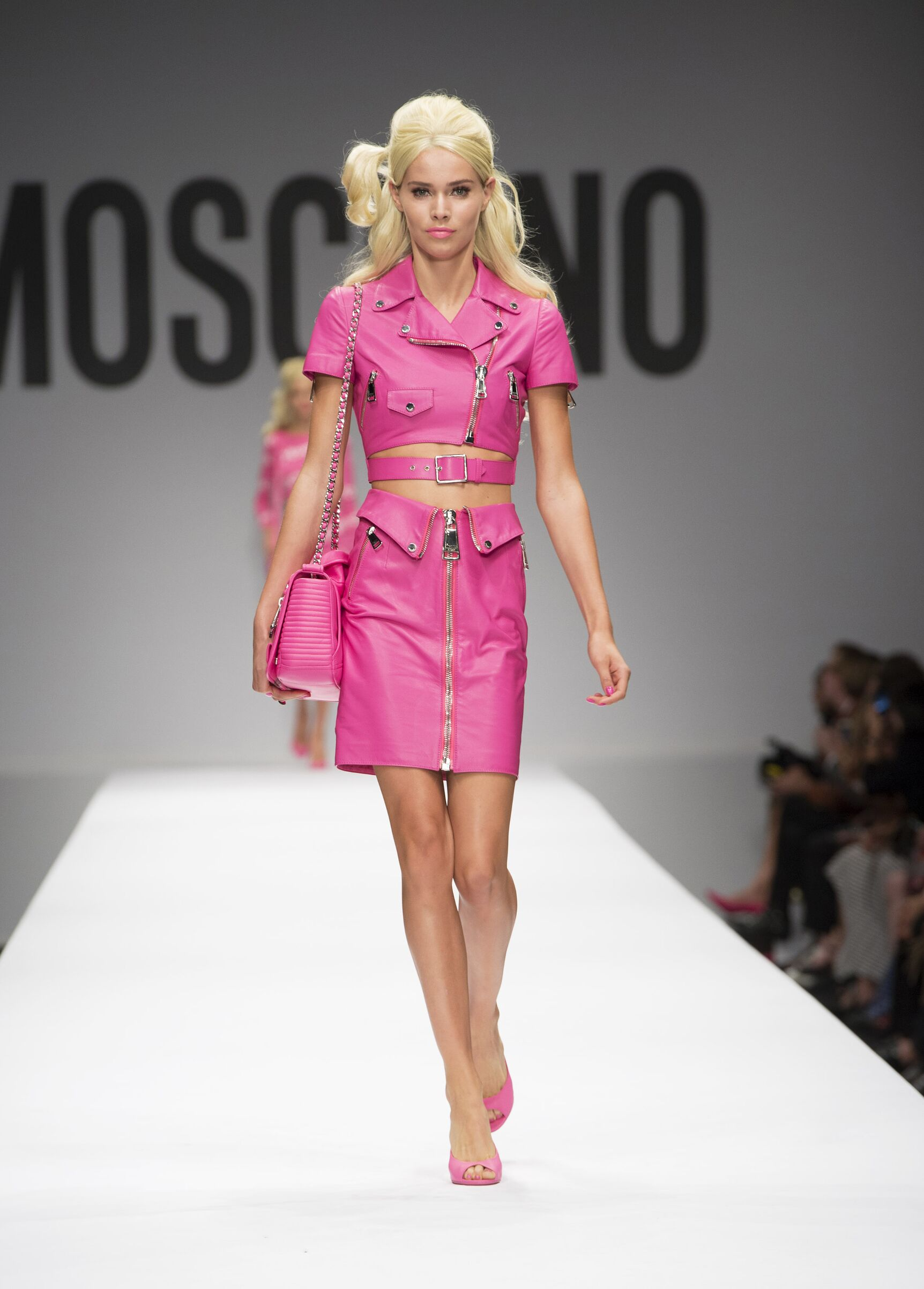 Moschino Woman Milan Fashion Week Barbie