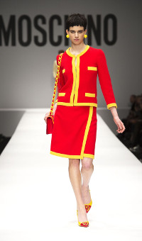 MOSCHINO FALL WINTER 2014-15 WOMEN'S COLLECTION – MILANO FASHION WEEK