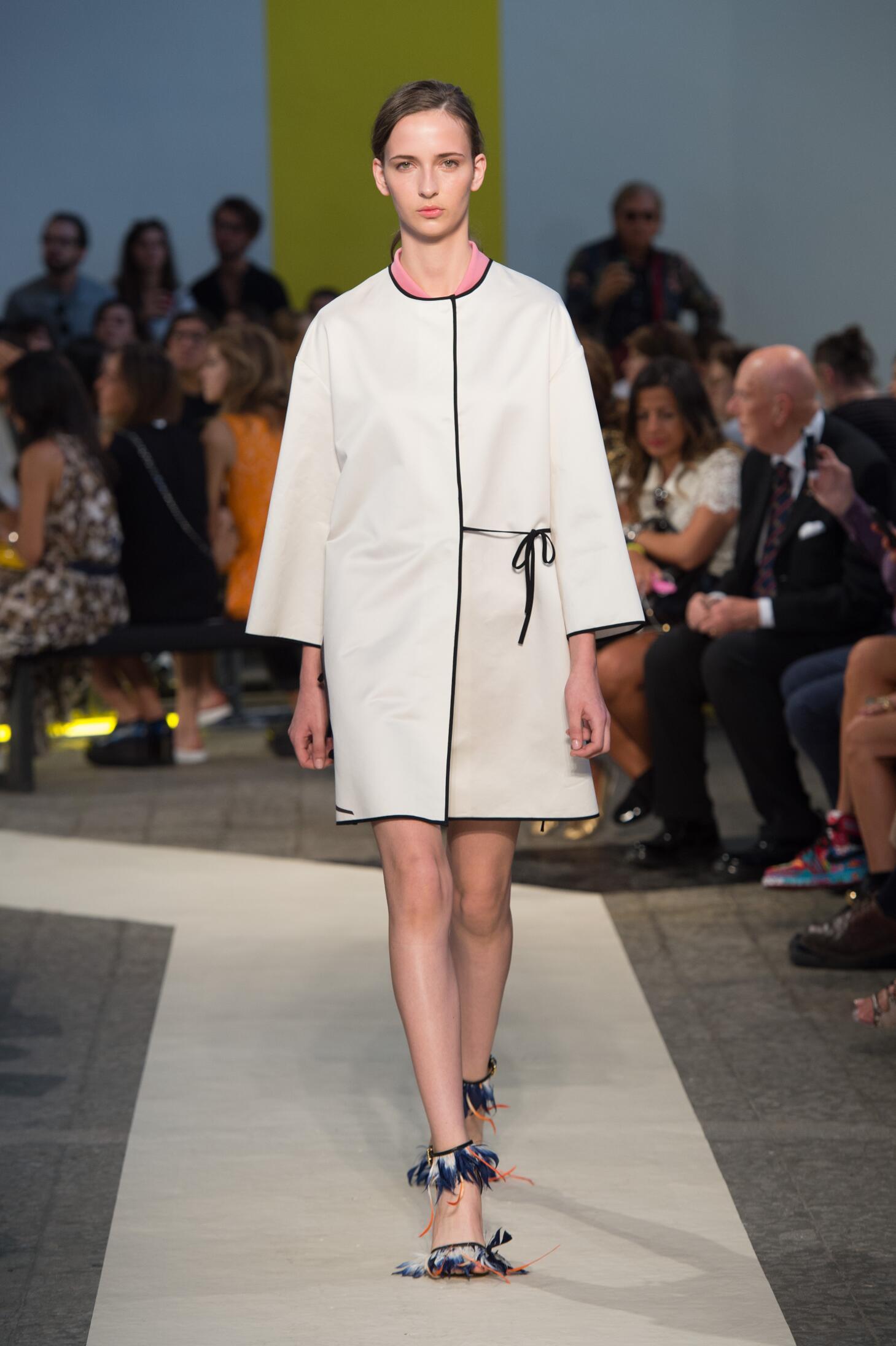 Msgm Woman Milan Fashion Week