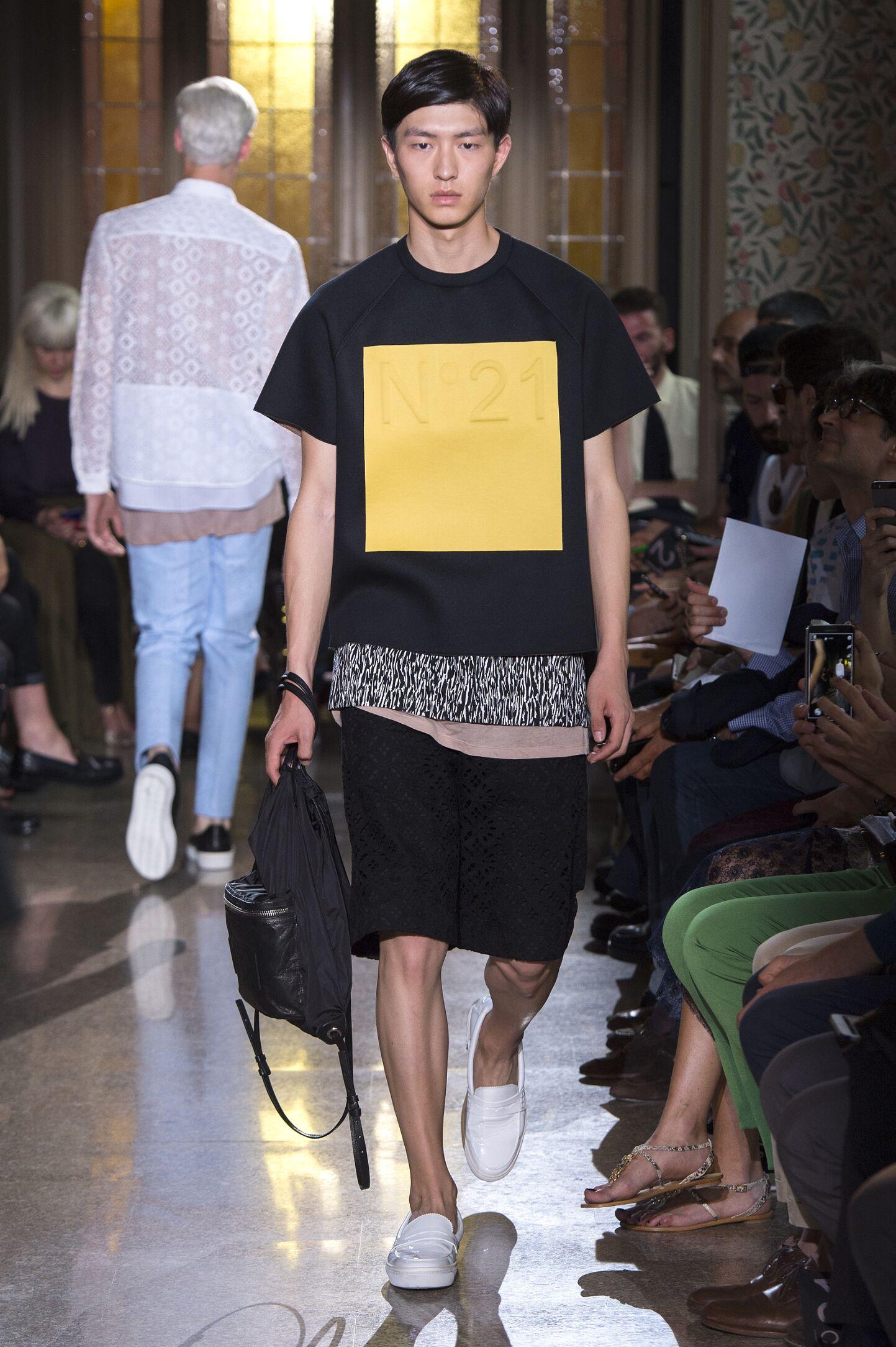 N°21 Spring Summer 2015 Mens Collection Milan Fashion Week